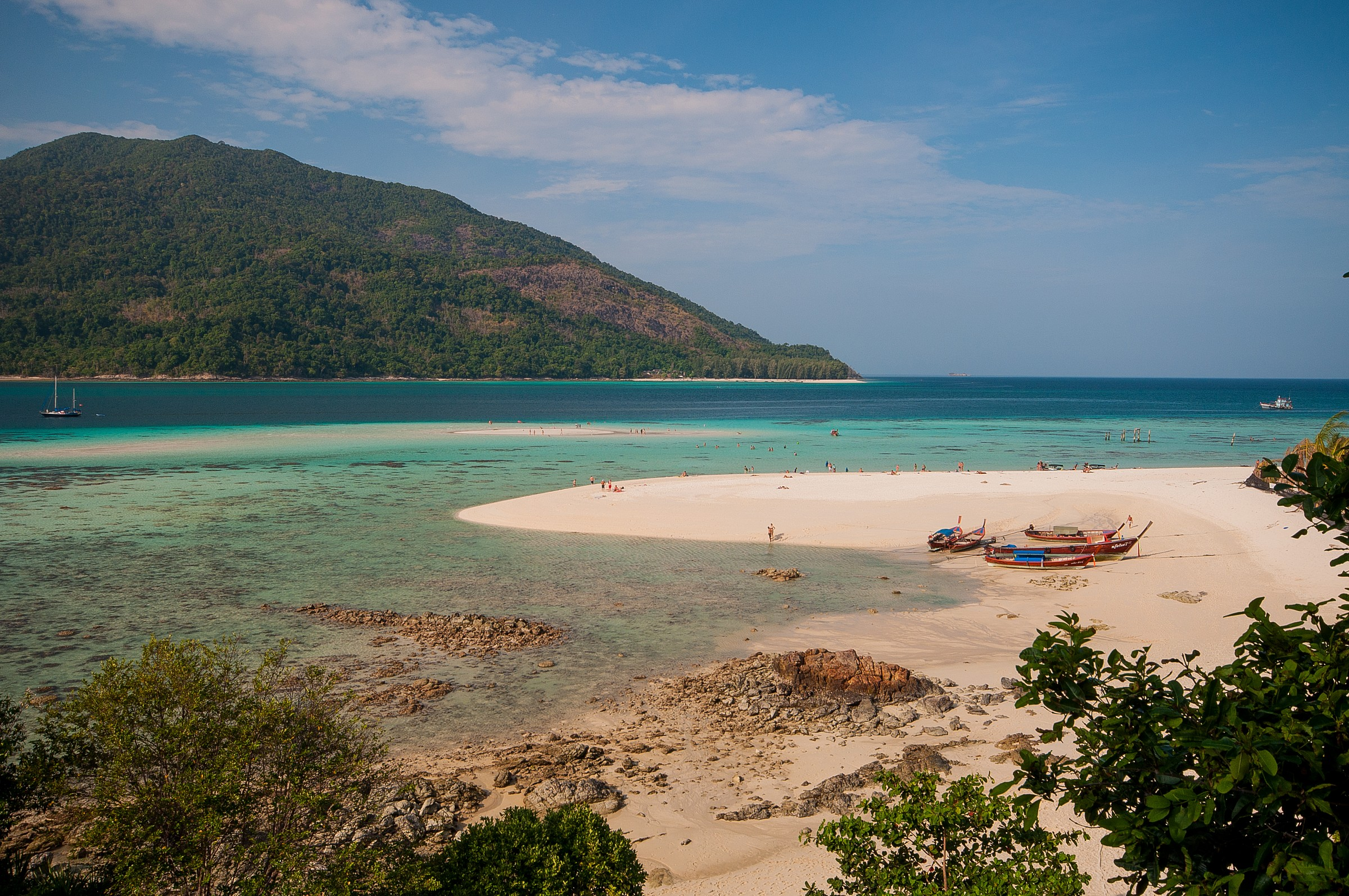 Sandbar in Ko Lipe...