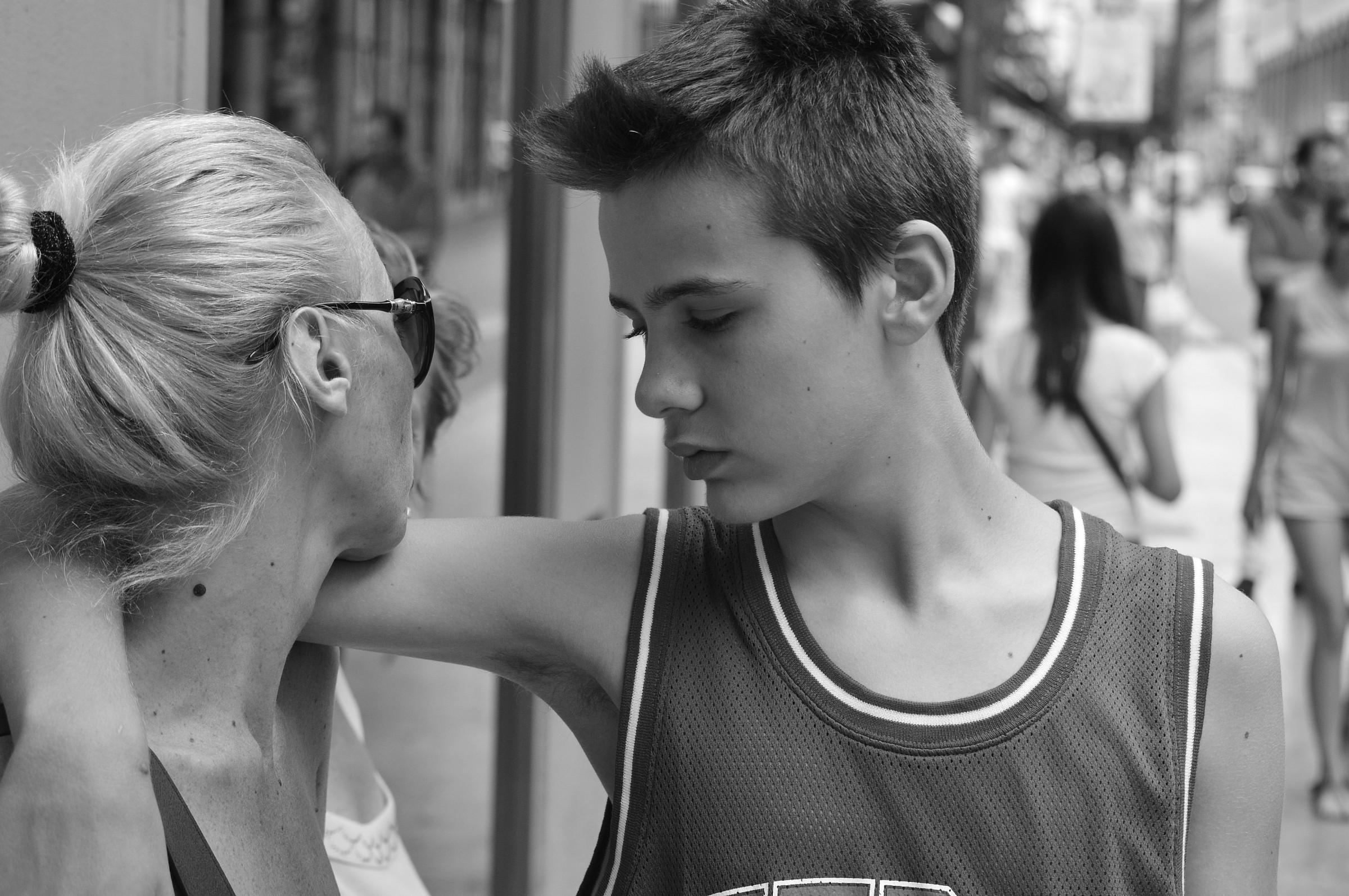Madre e figlio....