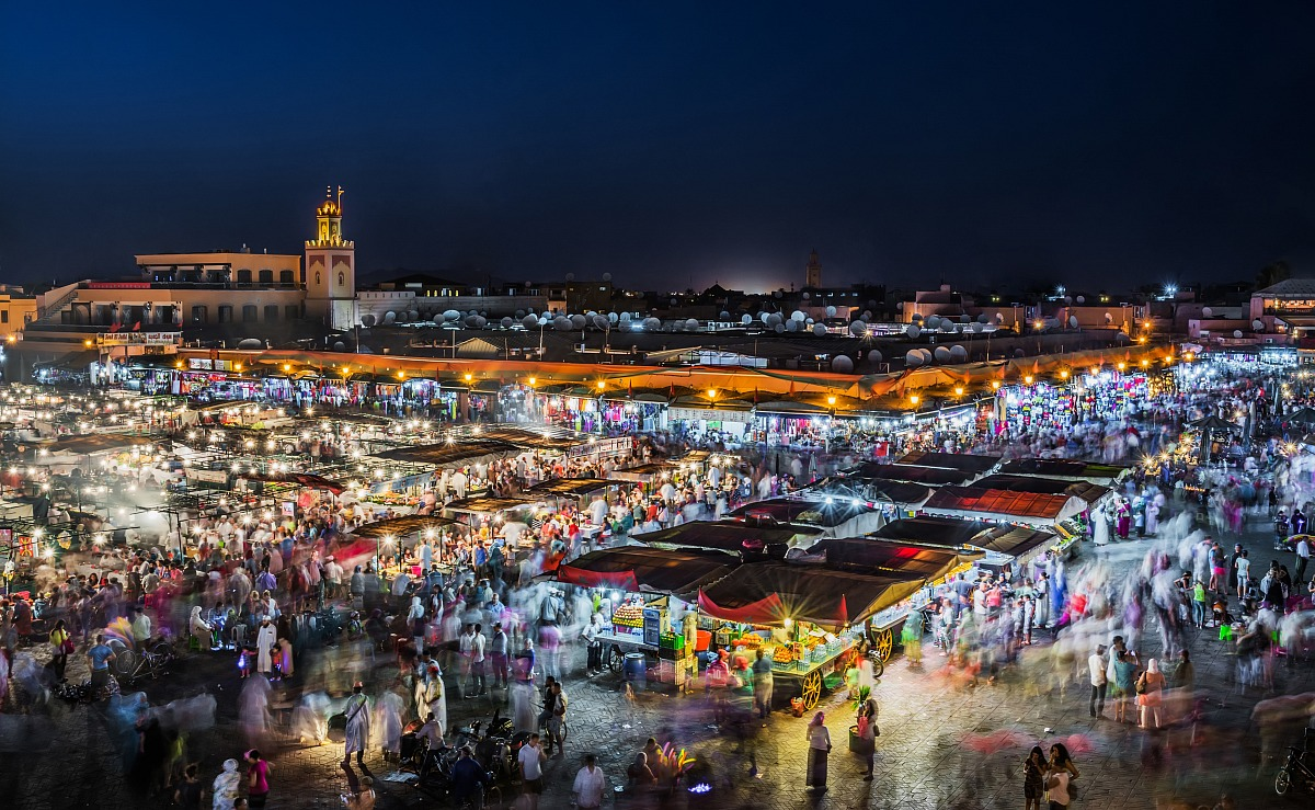 The beating heart of Marrakech...