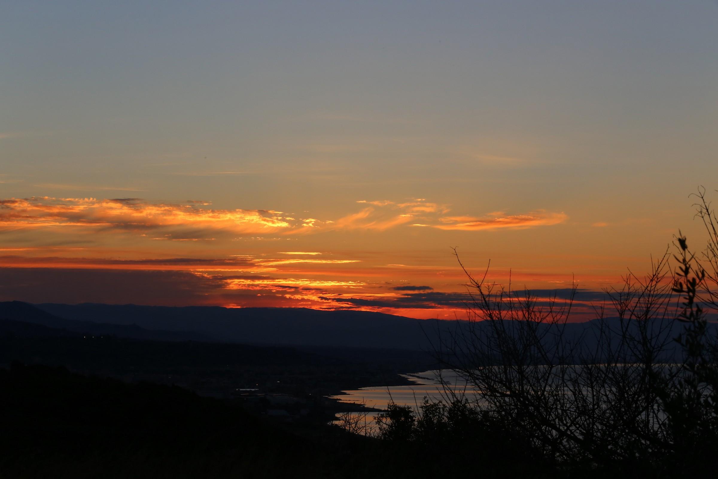 quiet sunset...