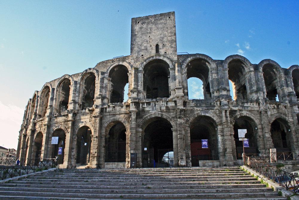 Arles - Anfiteatro - Entrata principale...