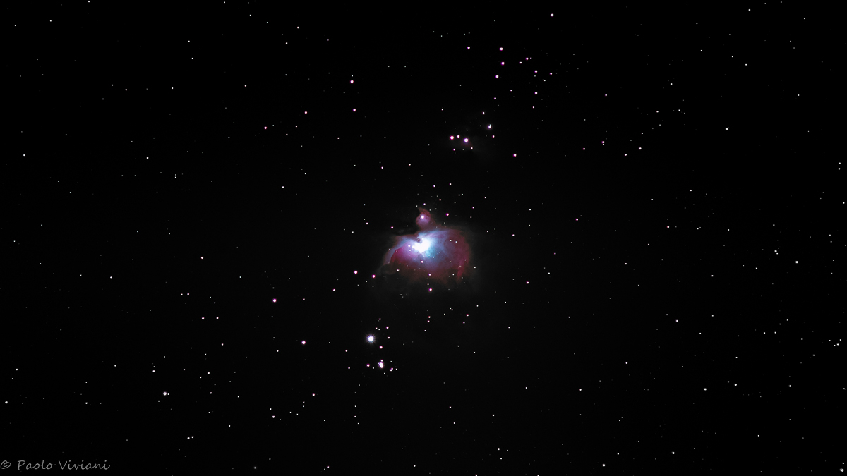 The Great Nebula of Orion...