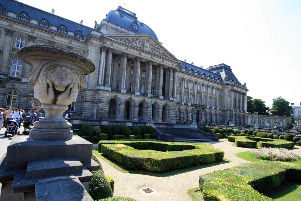 Bruxelles - Palazzo Reale - Facciata...