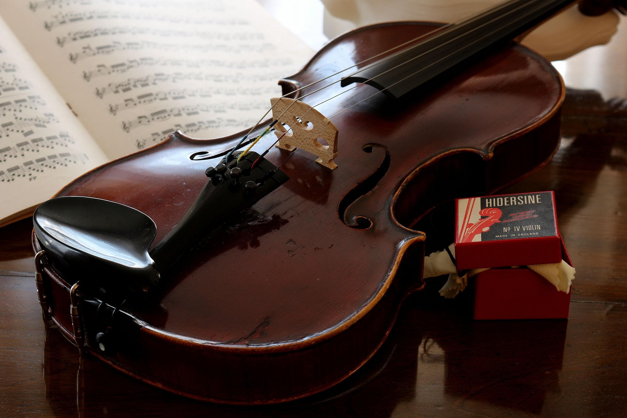 Il Violino e la pece...