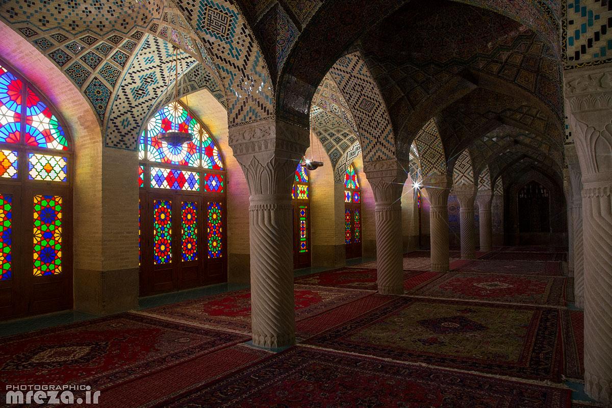 Iran-Shiraz-Nasirolmolk msq...