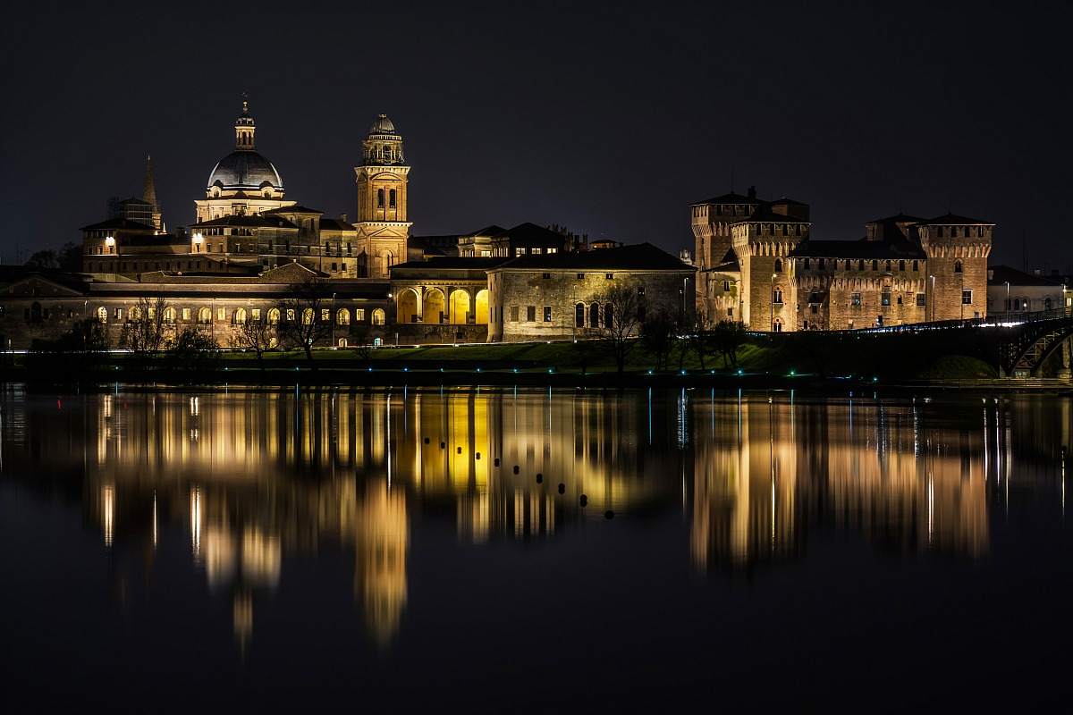 The reflections of Mantua...