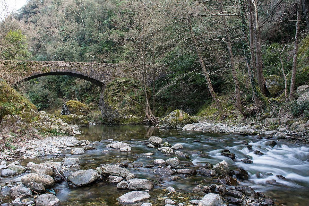 Il ponte sul fiume juzaphoto - Il giardino sul fiume ...