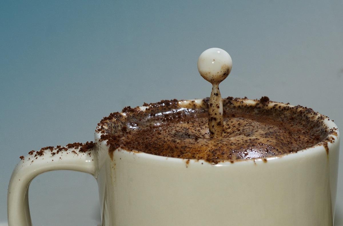 Goccia di Latte nel Caffè...
