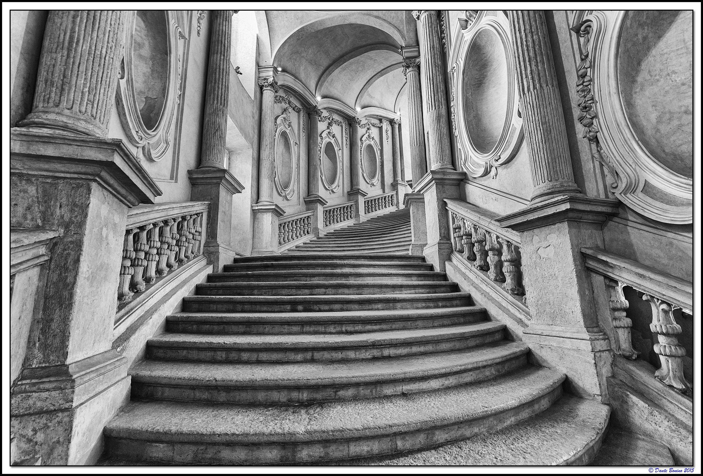 Palazzo Carignano: The Staircase Curvilineo...