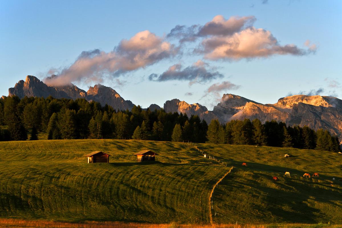 Tramonto -Dolomiti-...