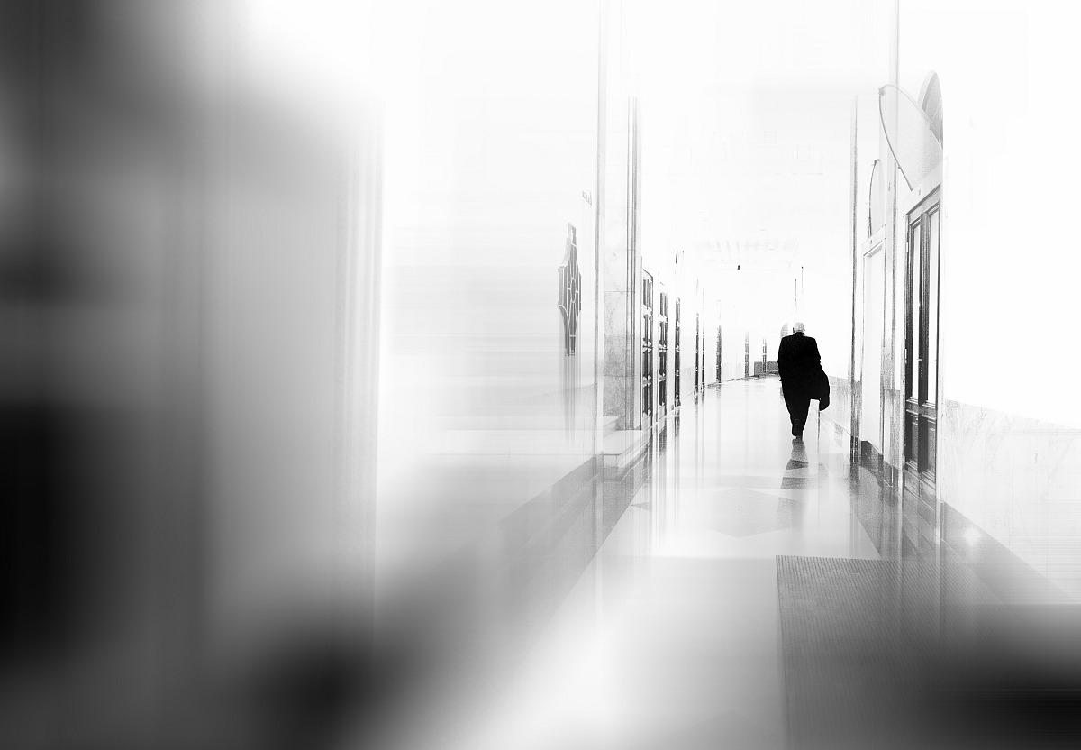 The long corridor...