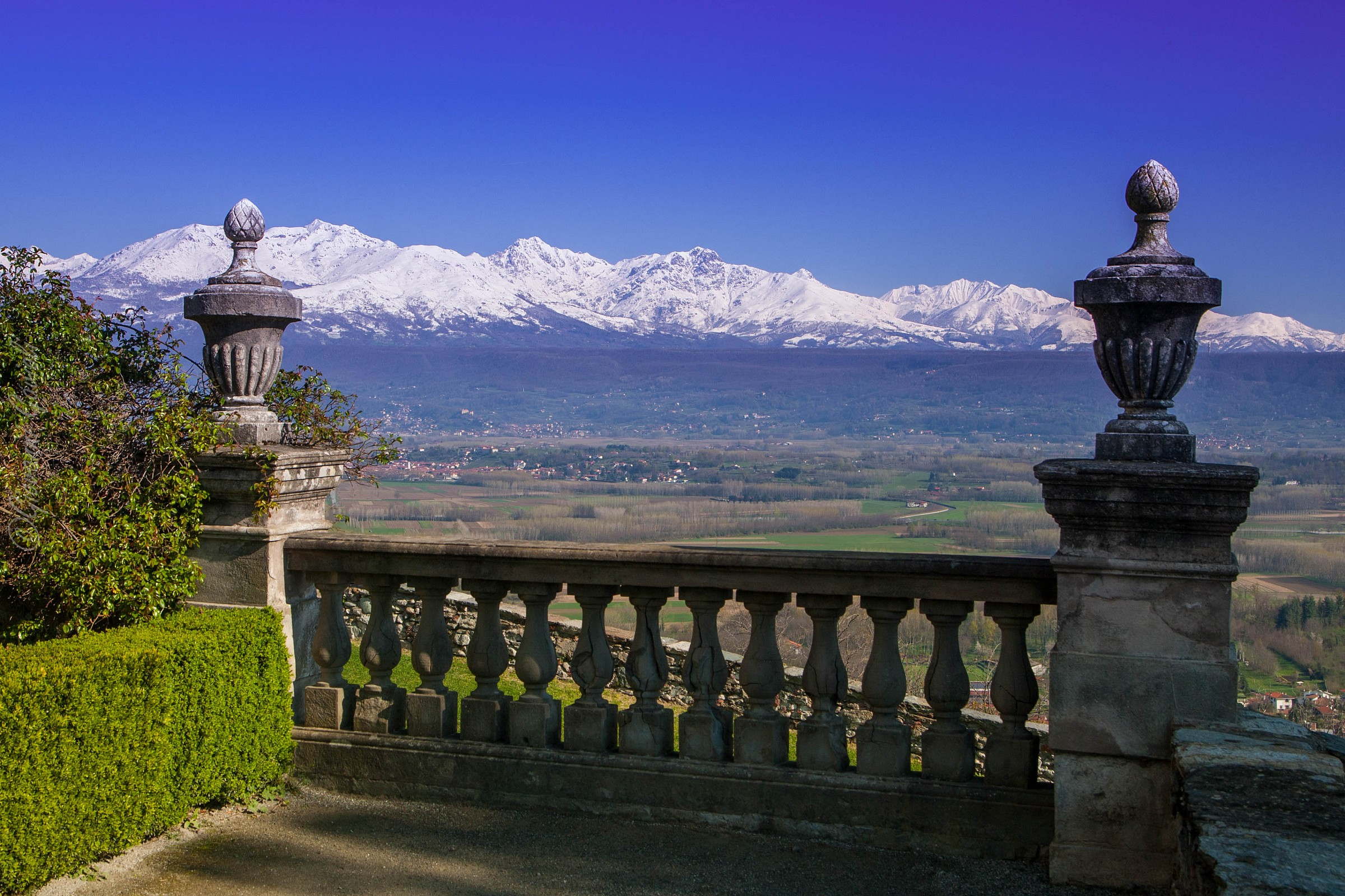 The Alps from Castle...