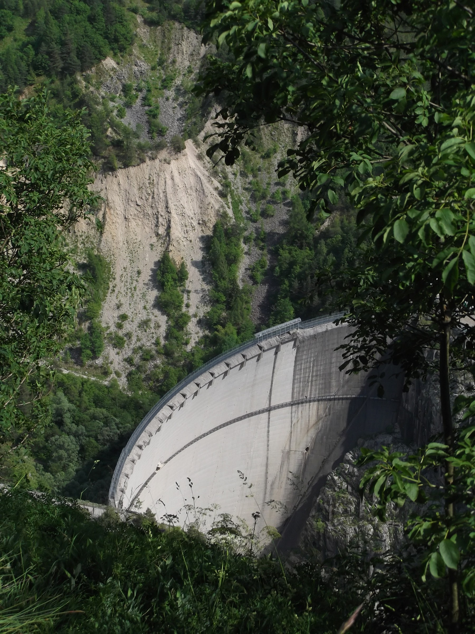 The Vajont dam...