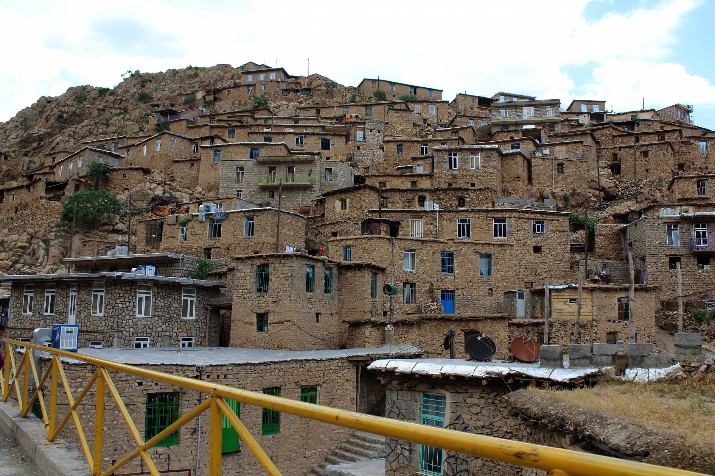 Iran-Kermanshah-palangan village...