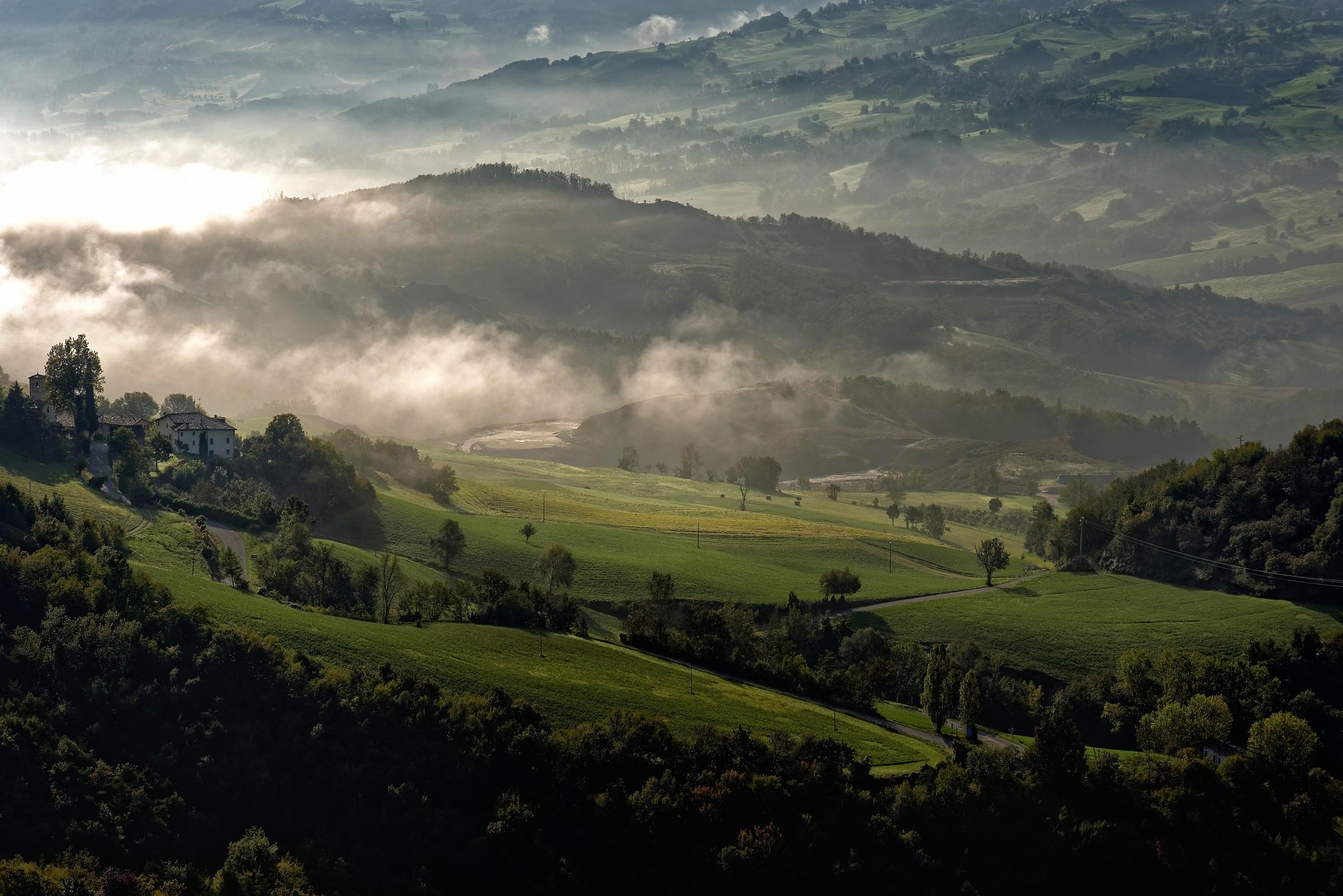 Secchia valley...
