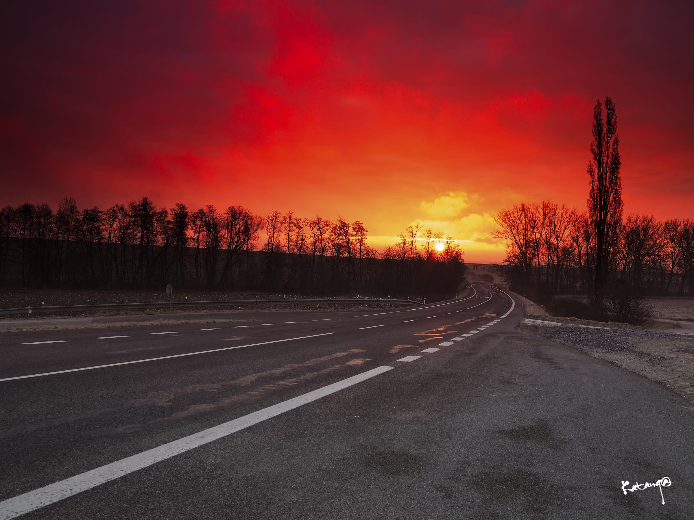 Slovak roads...