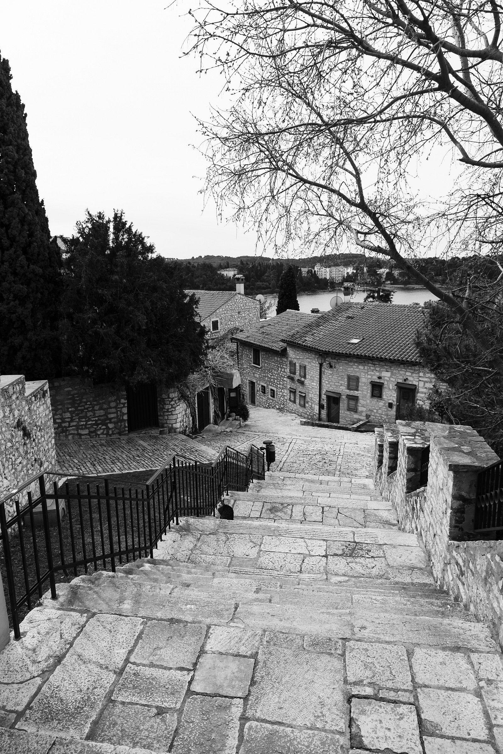 View from the Church of Santa Eufemia Rovinj...