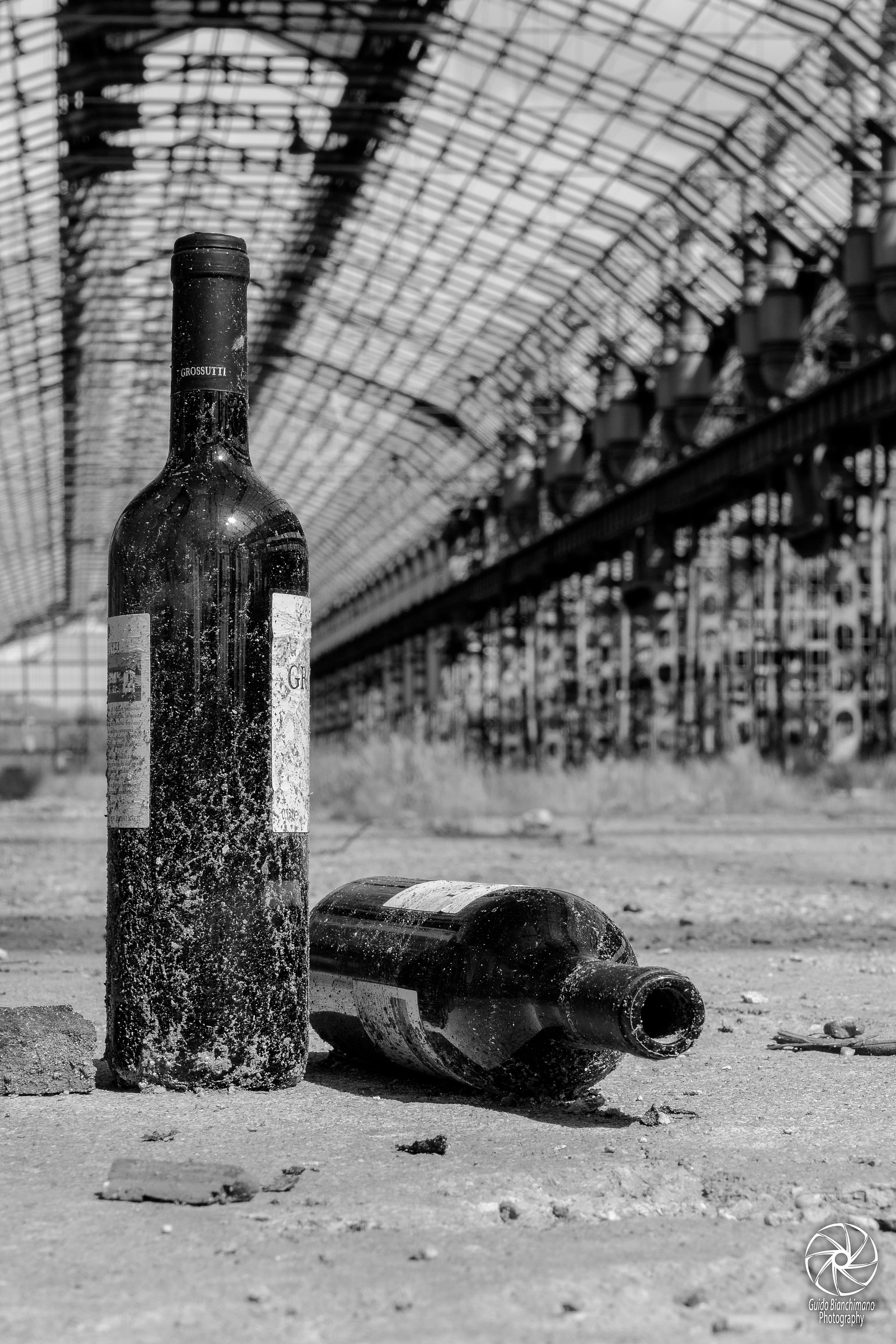 Among the abandoned warehouses Lambrate...