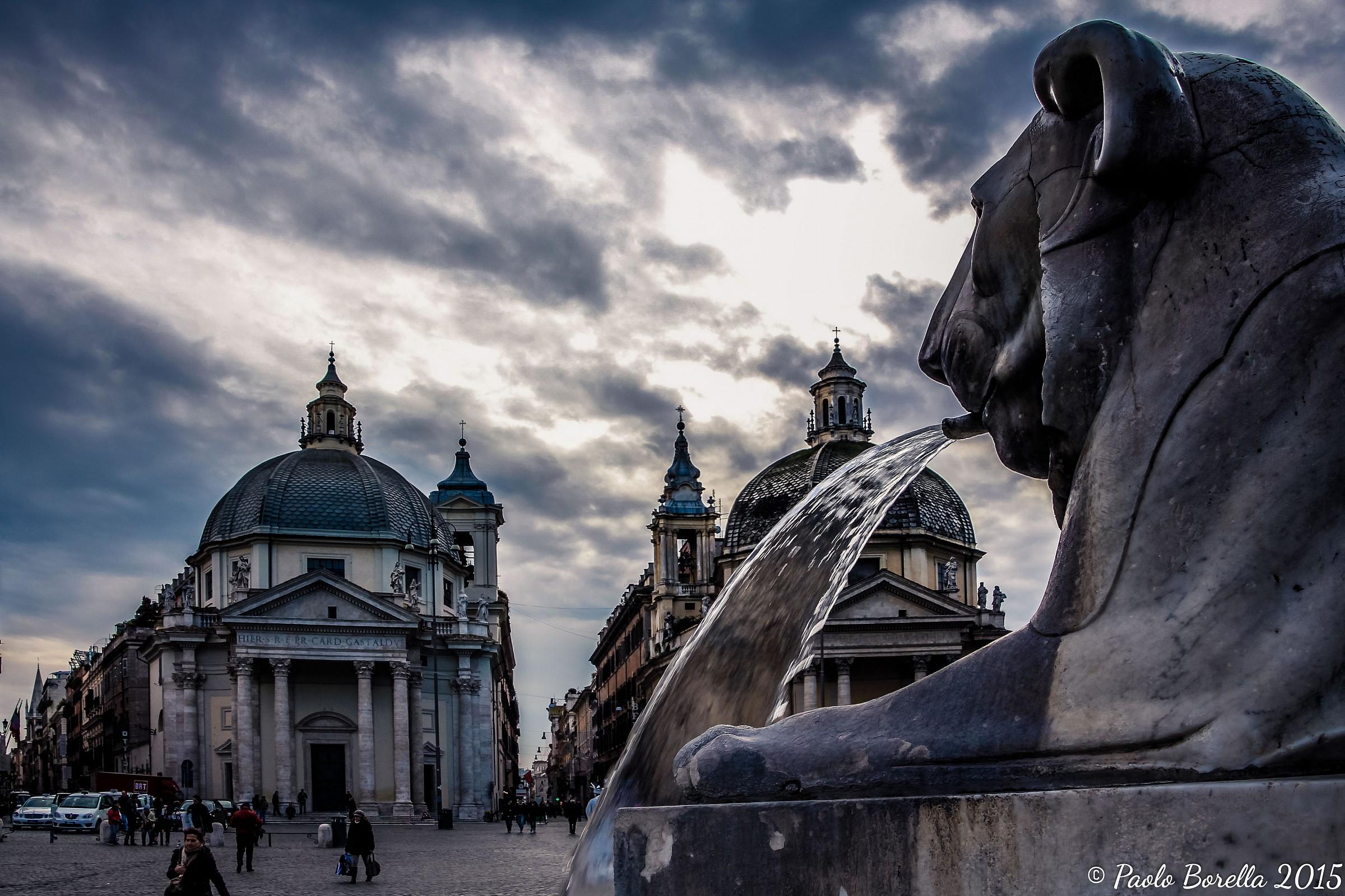 Piazza del Popolo Rome...