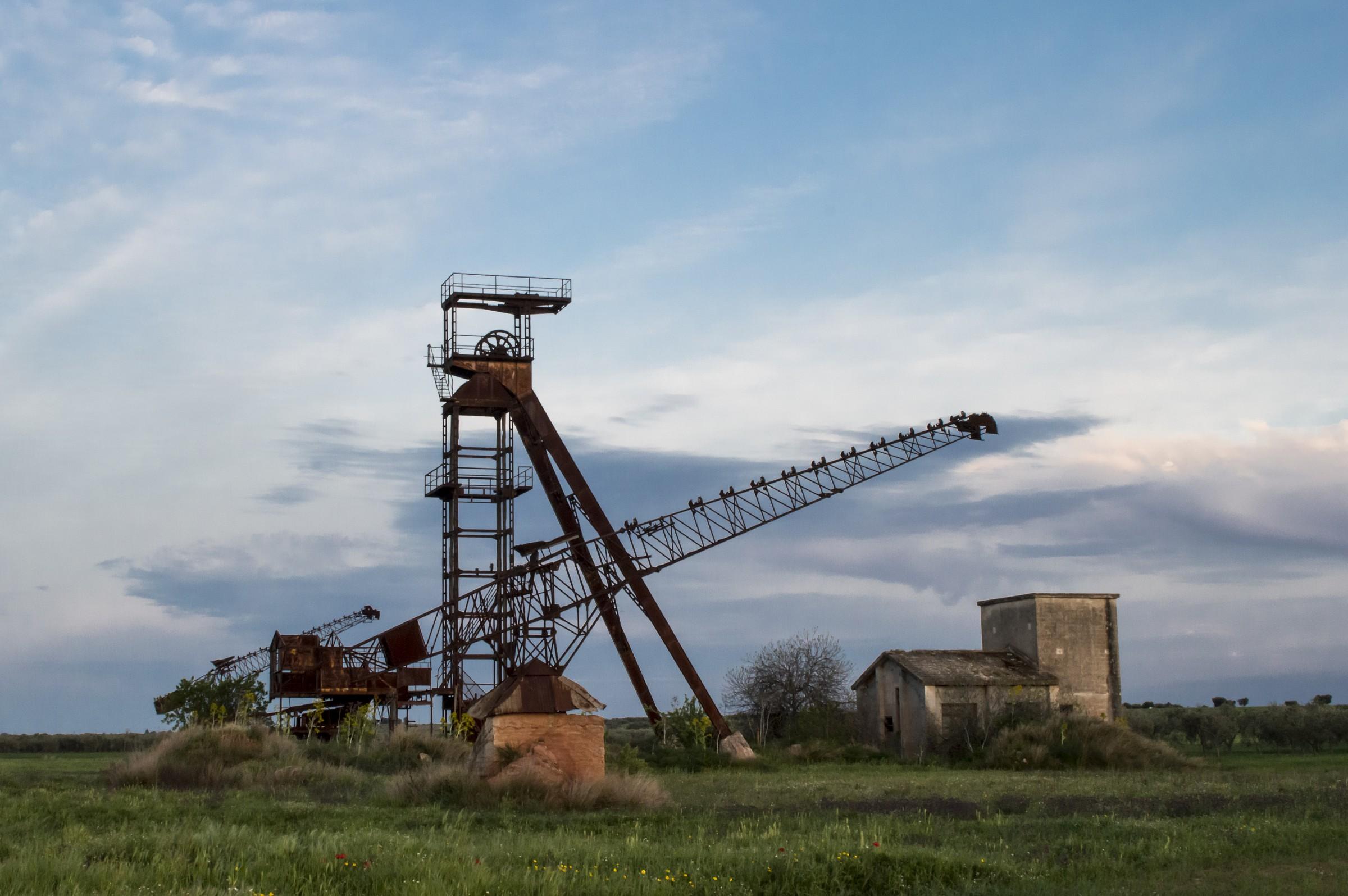 abandoned mine...
