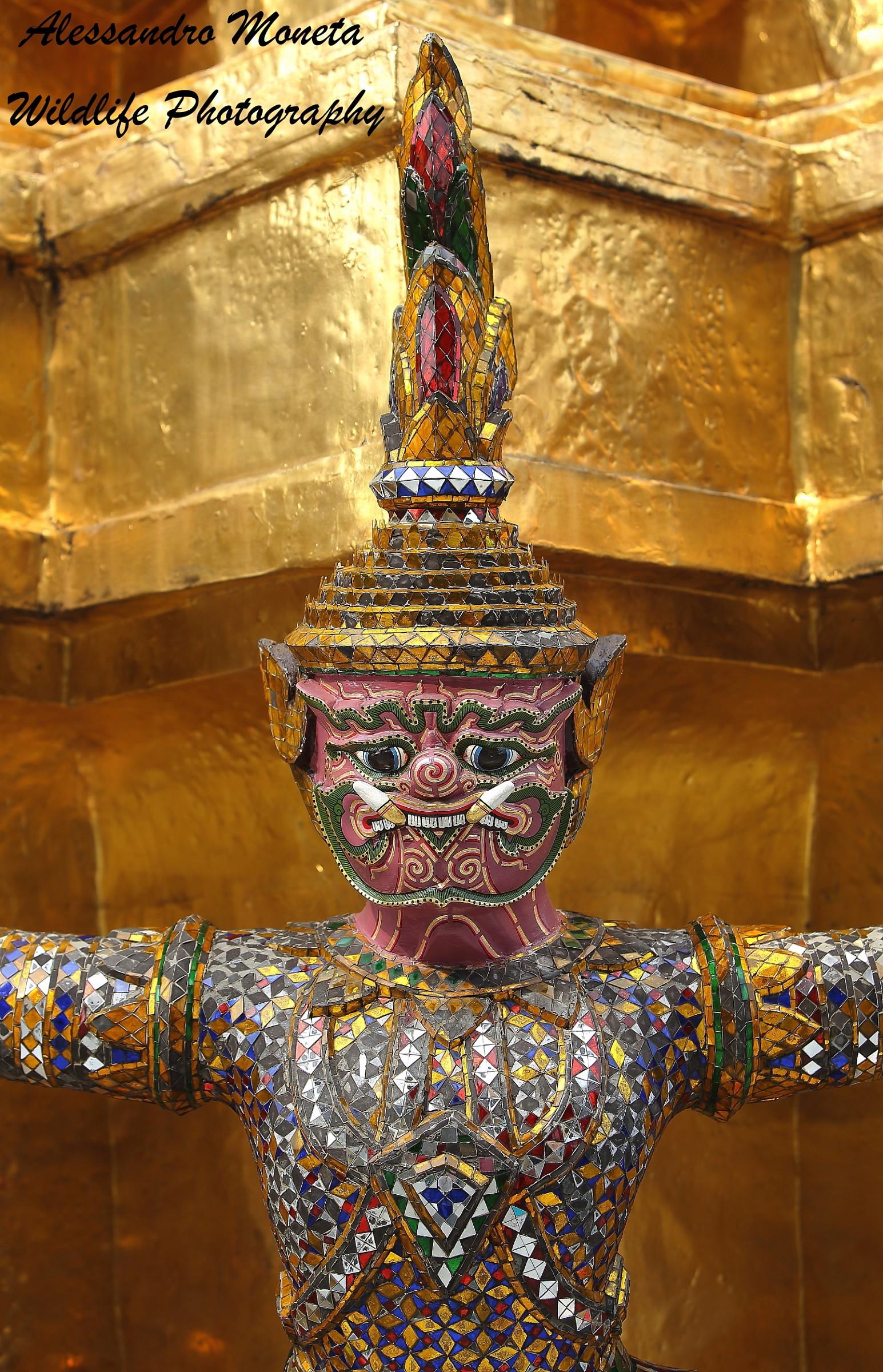 Palazzo Reale di Bangkok...