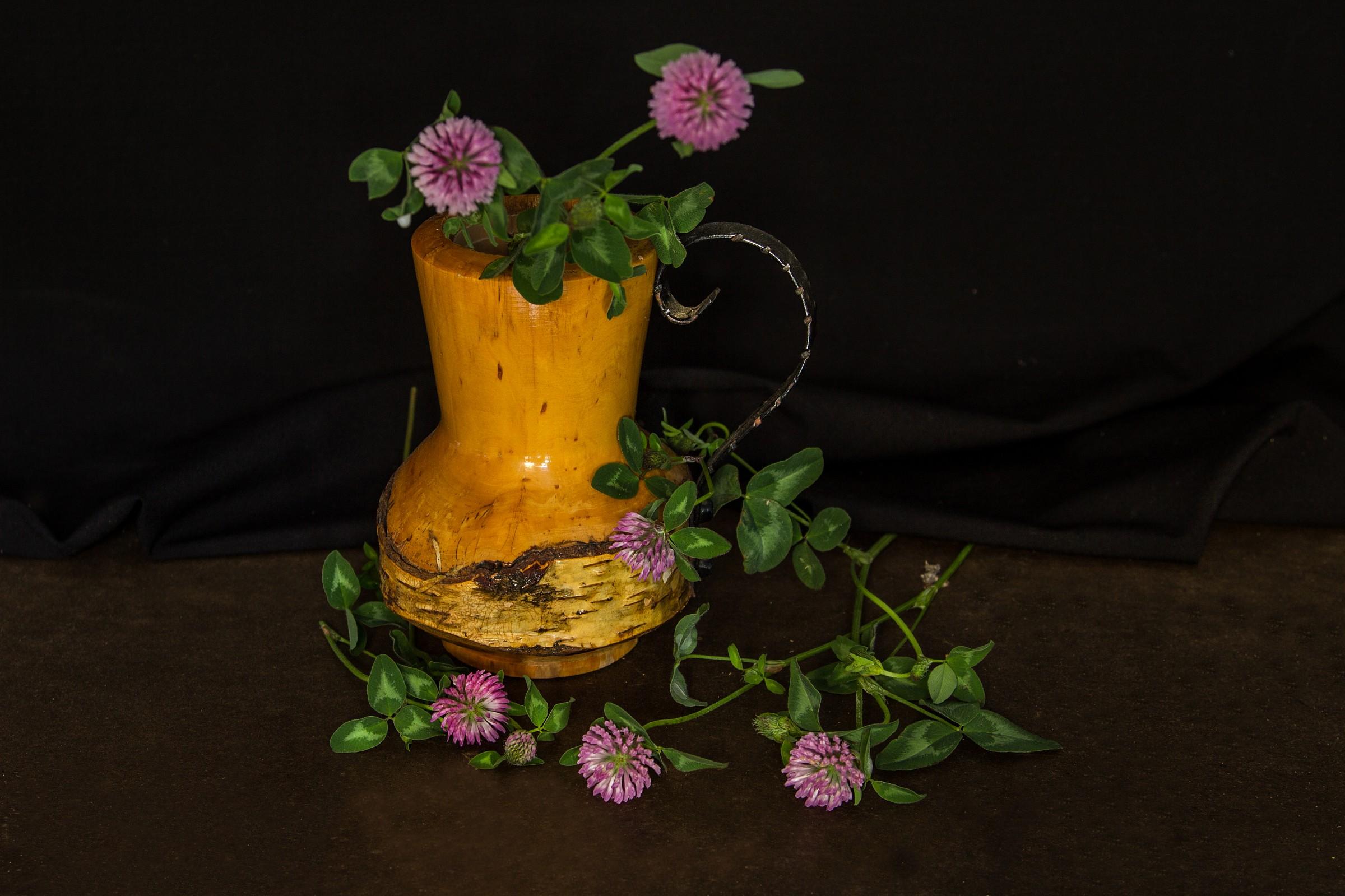 Clover in bloom...