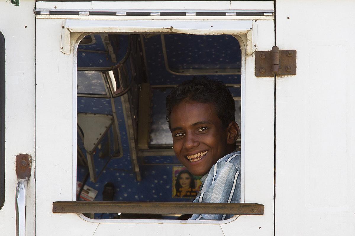 The smile trucker...
