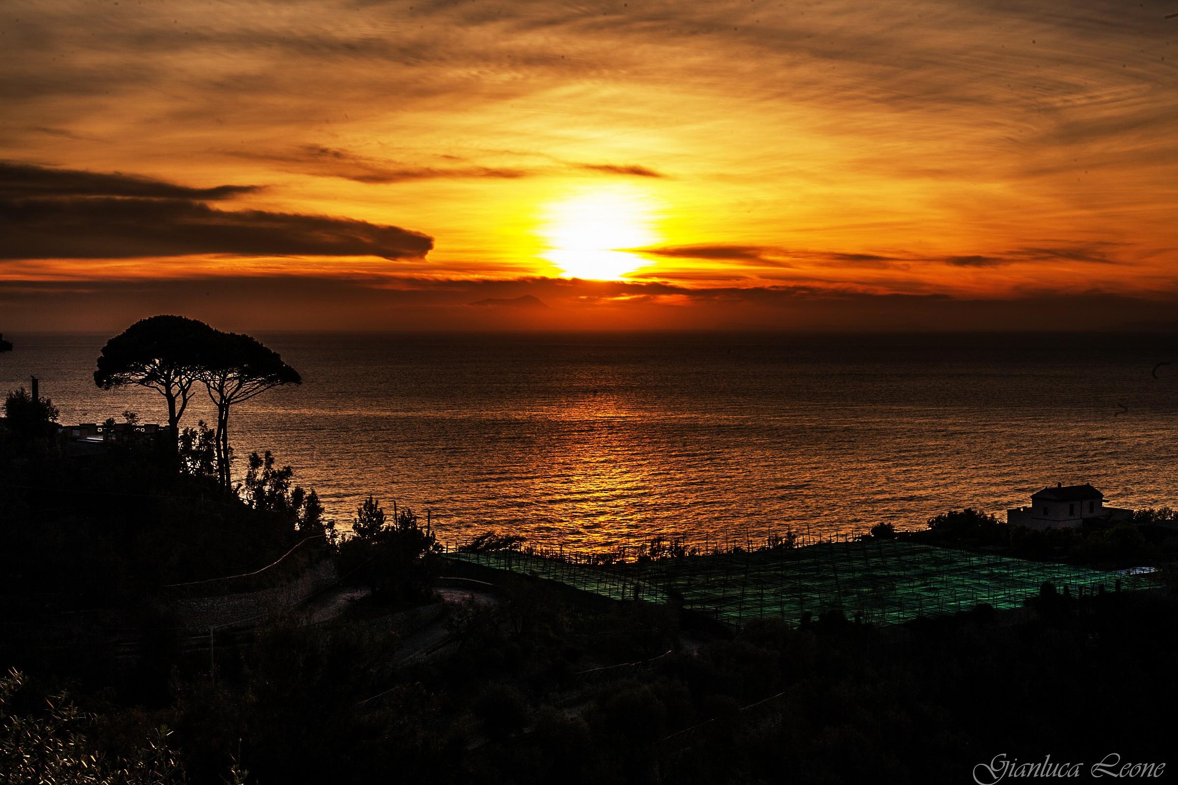 Sorrento's sunset...