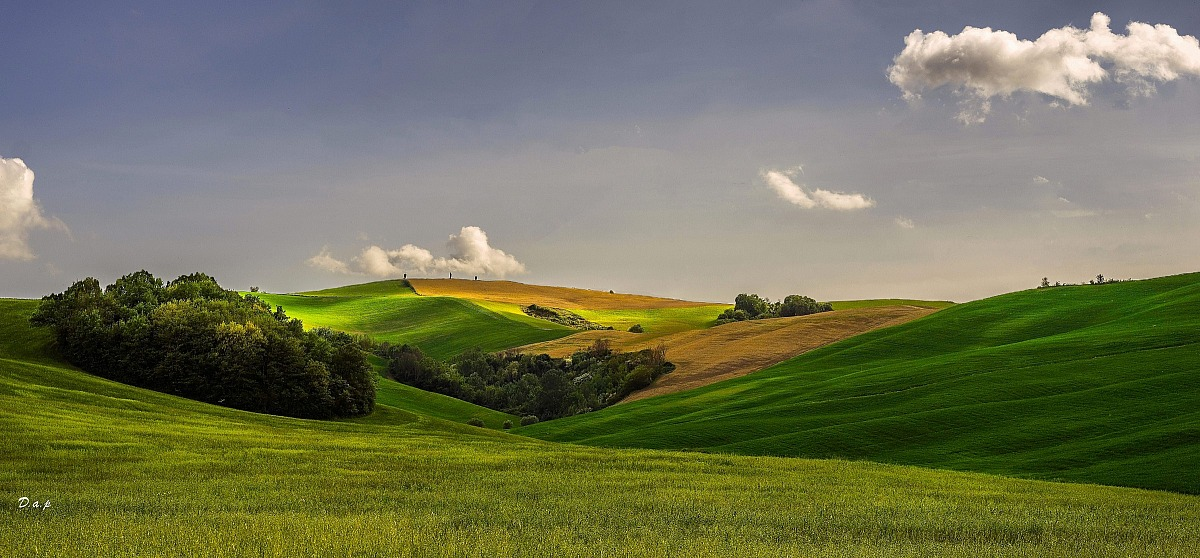 Color of Val d Orcia...
