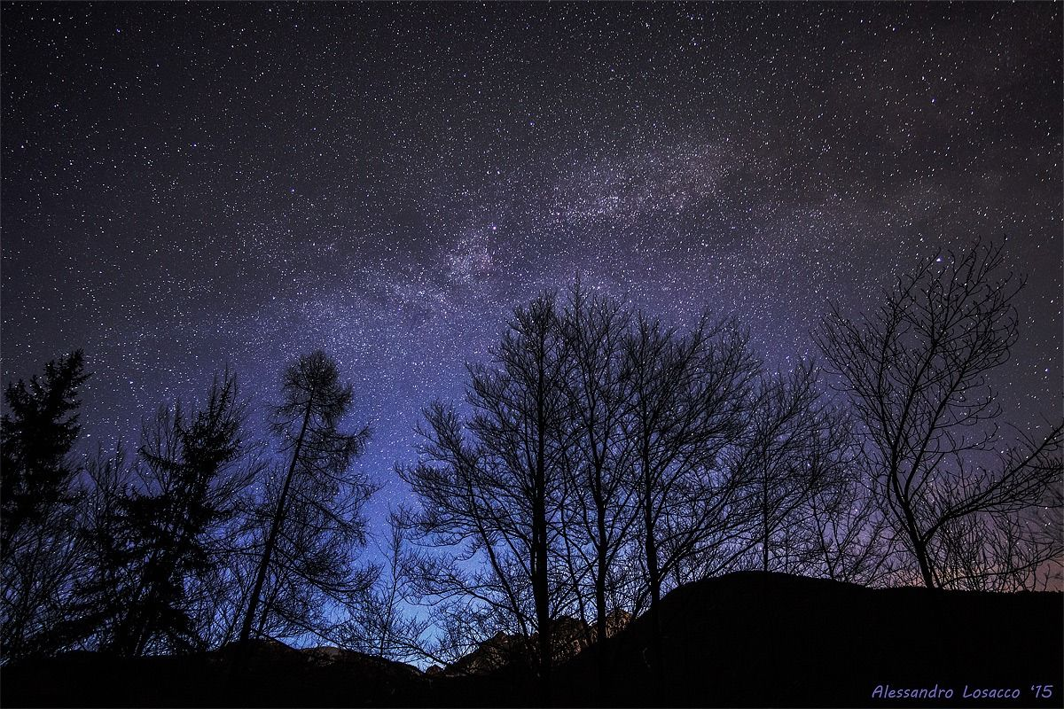 Milky way at first light from Coleraine 2...
