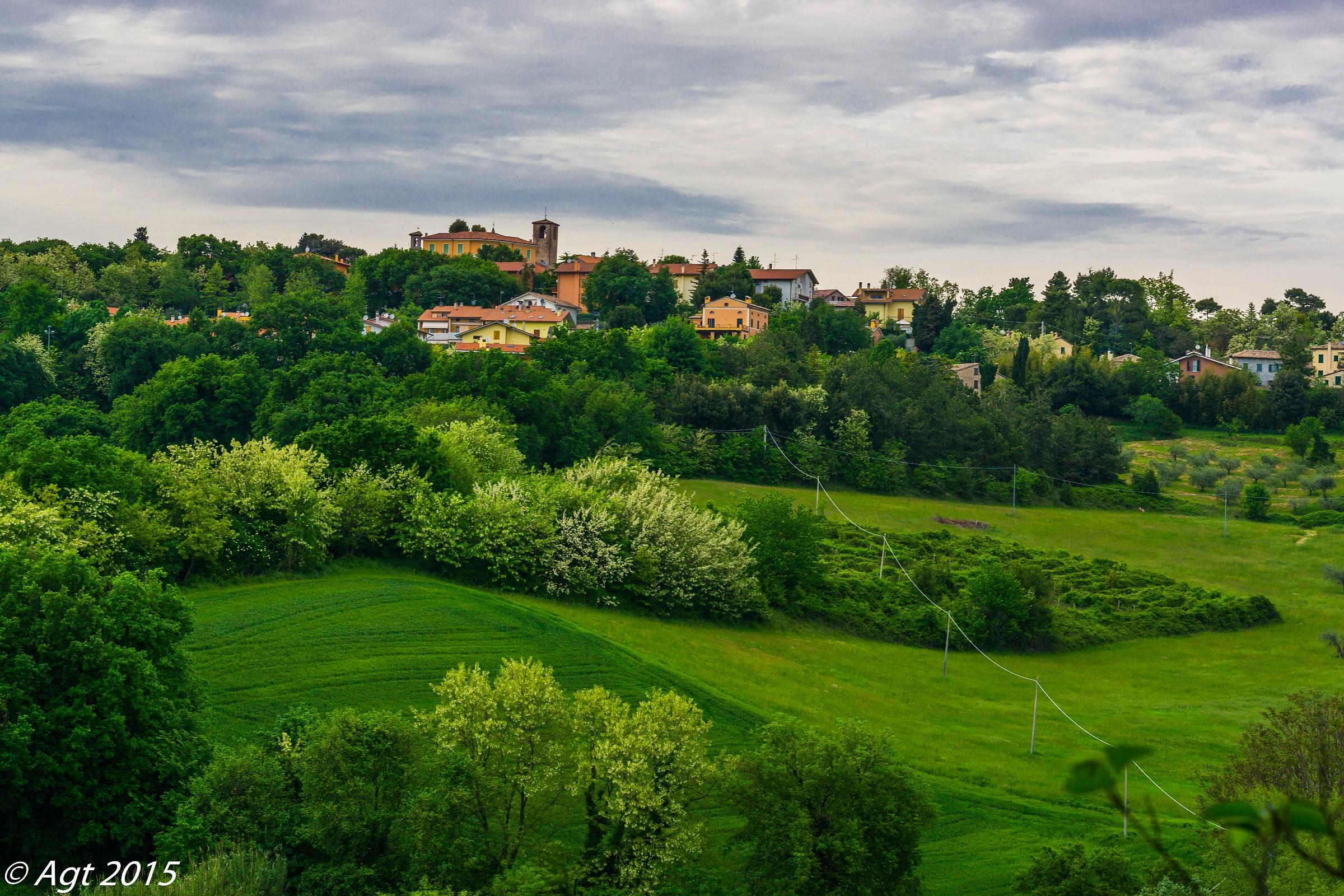 Vista del Castello di Novilara Pesaro   JuzaPhoto