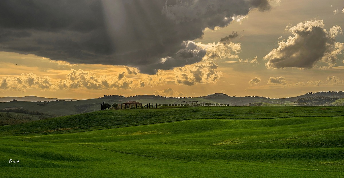 Colors of the Val d 'Orcia II...
