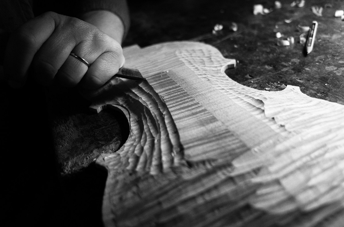 The art of the luthier...