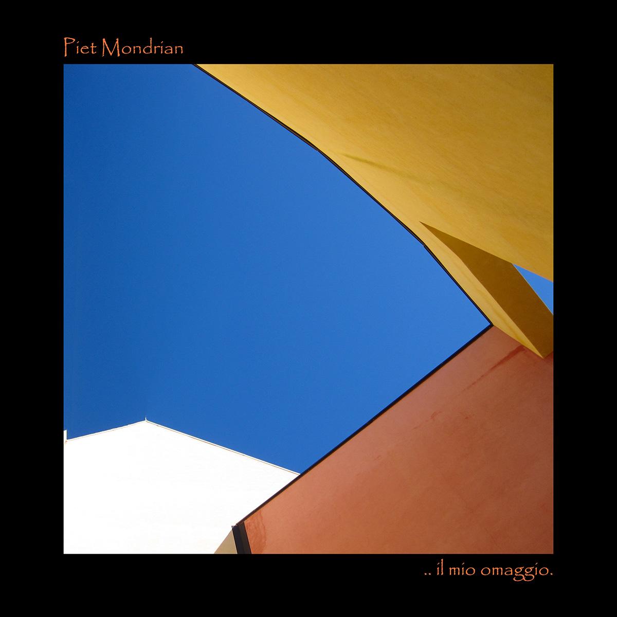 Omaggio a Piet Mondrian...
