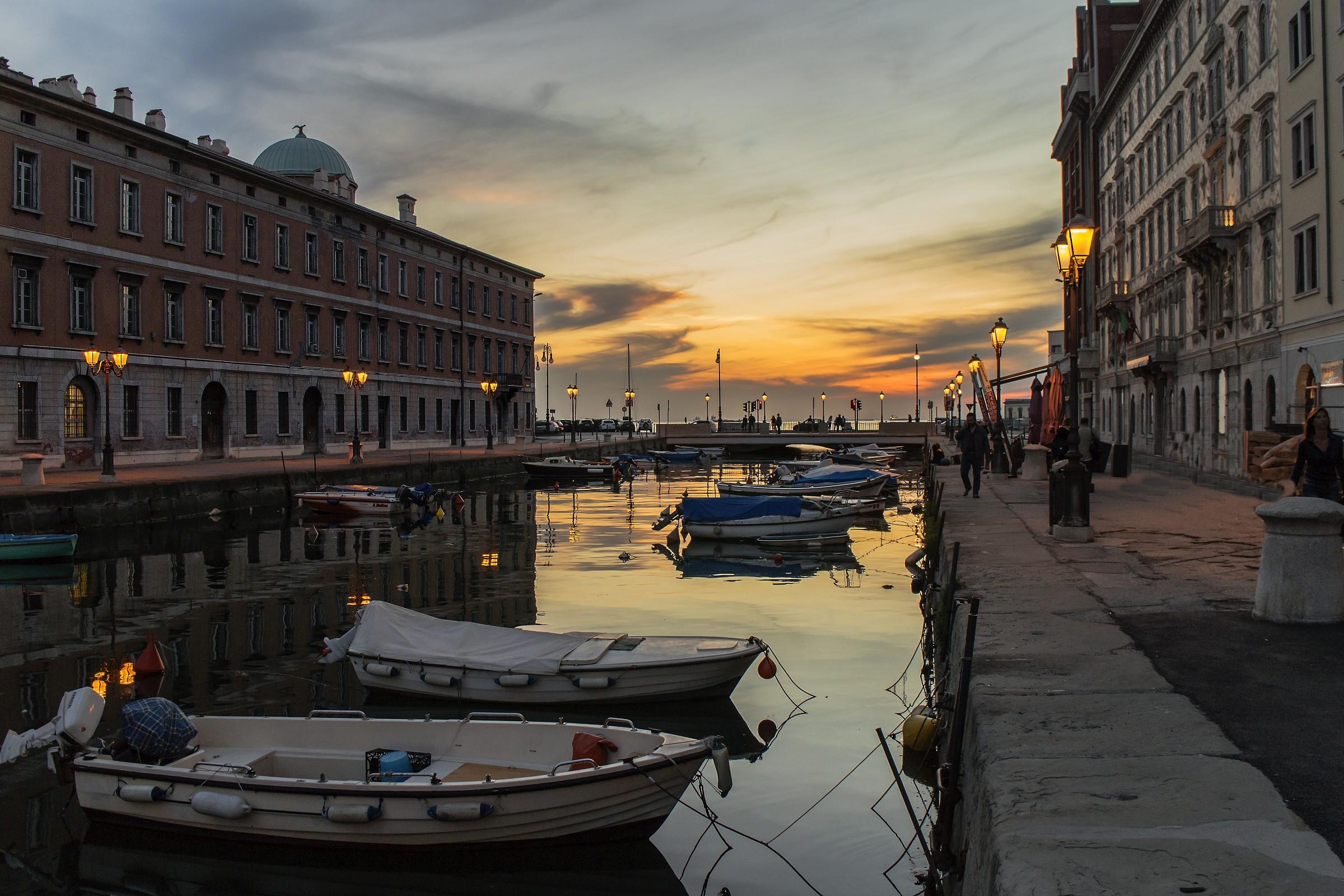 il canale di Ponterosso...