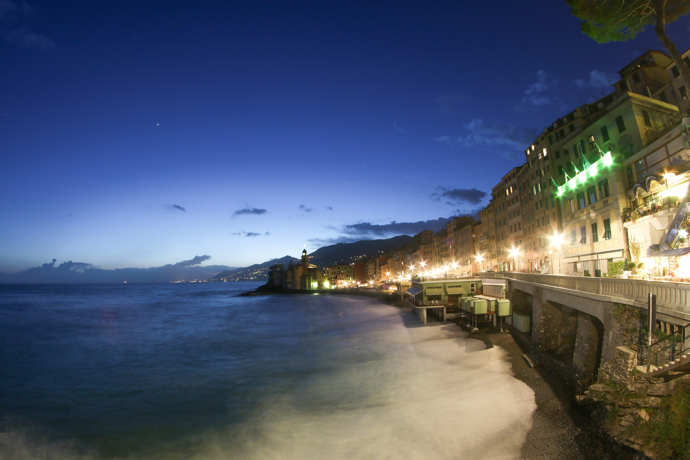 Camogli in fish eye...