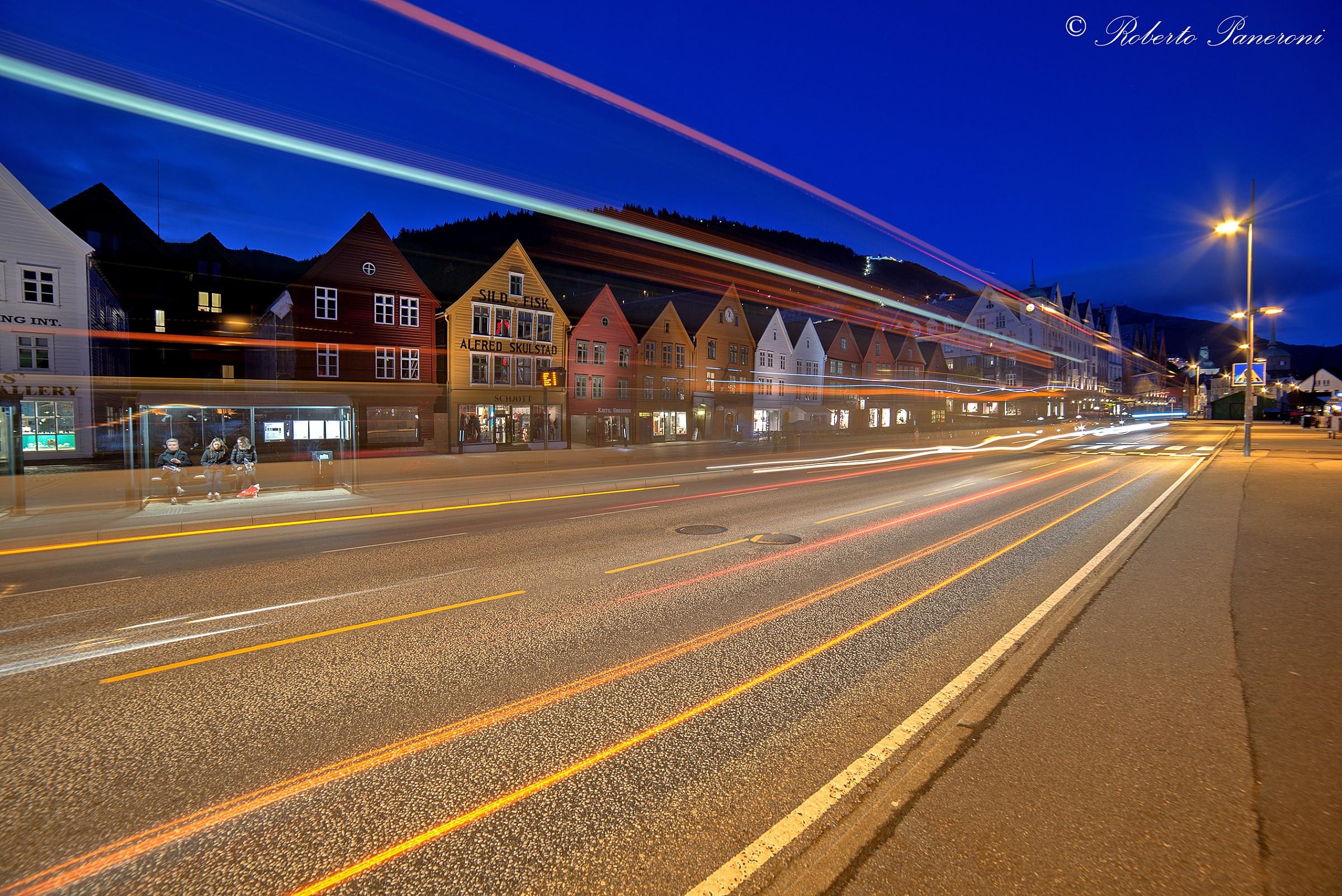 light Norway...