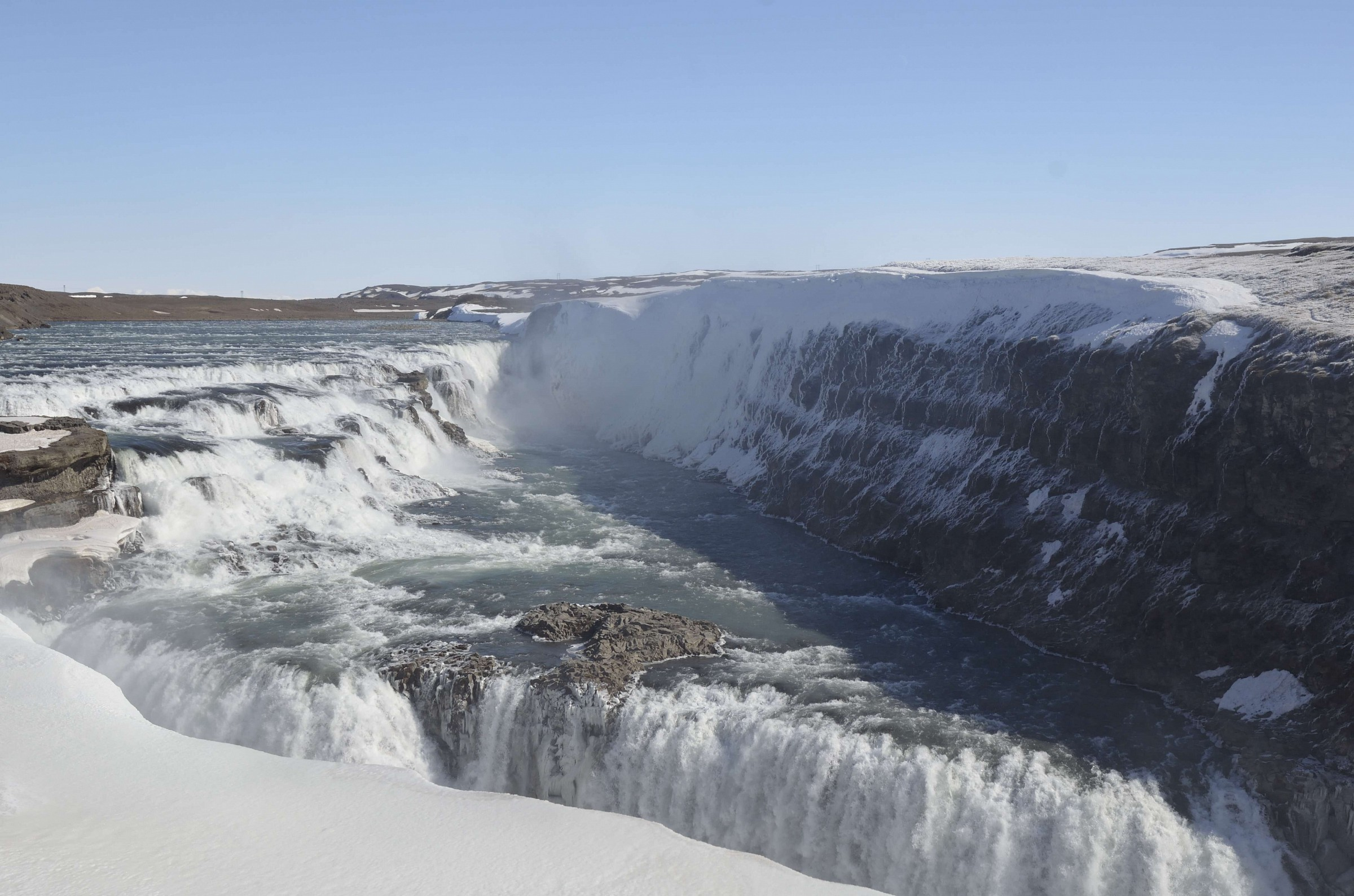 Gullfoss waterfall Iceland...