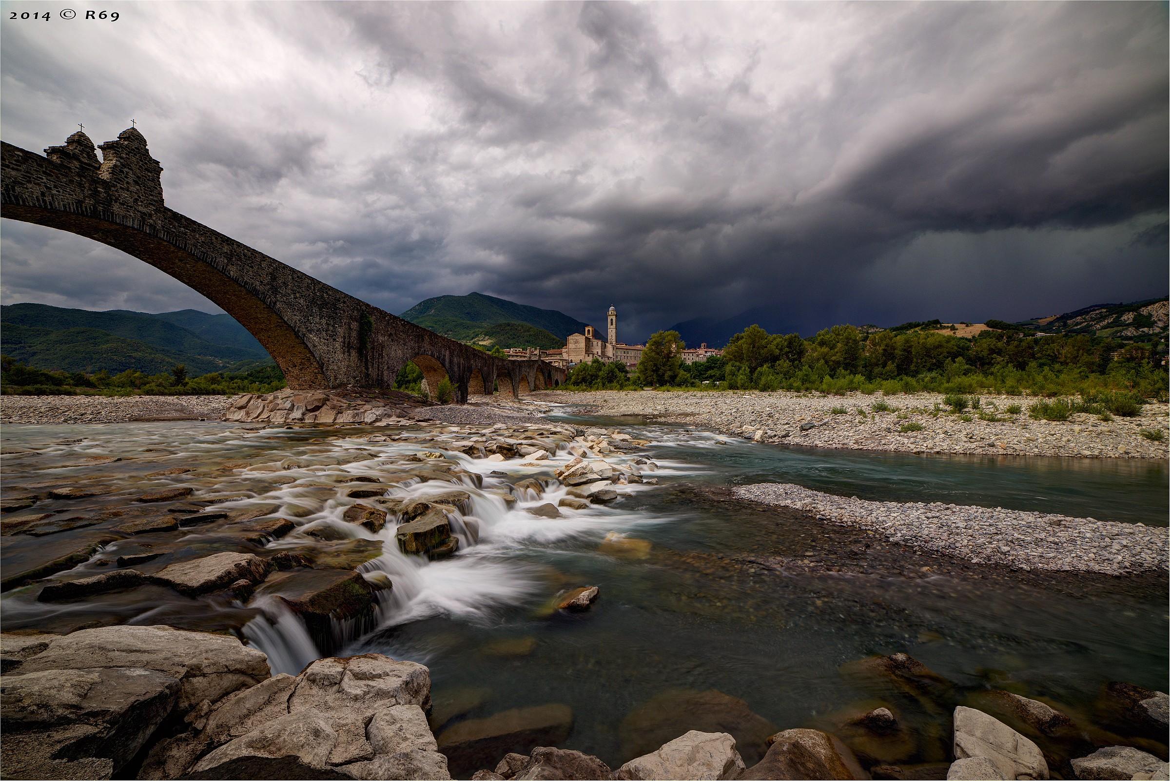 Storm in Bobbio...