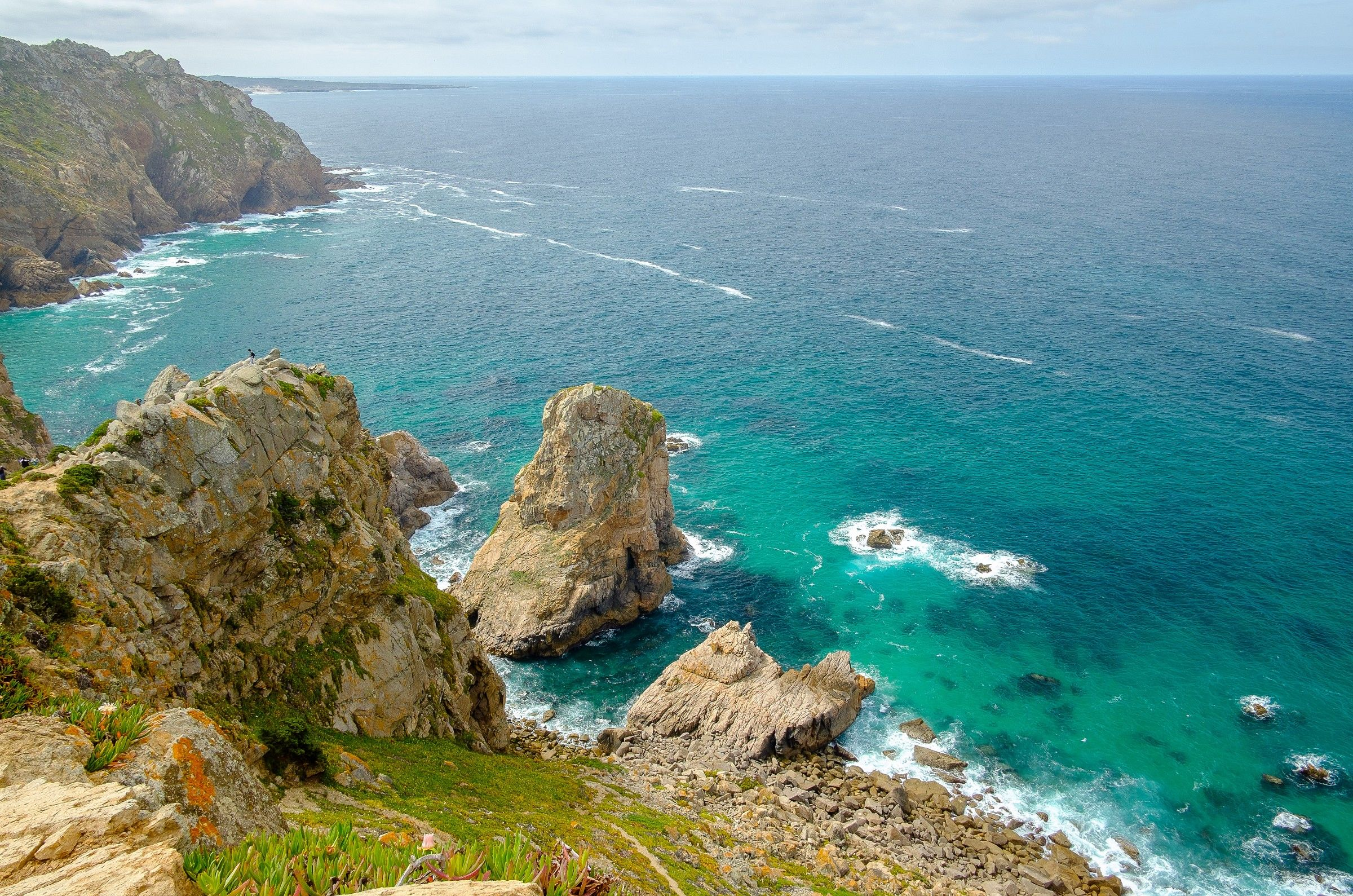 Cabo da Roca, the westernmost point of Europe...