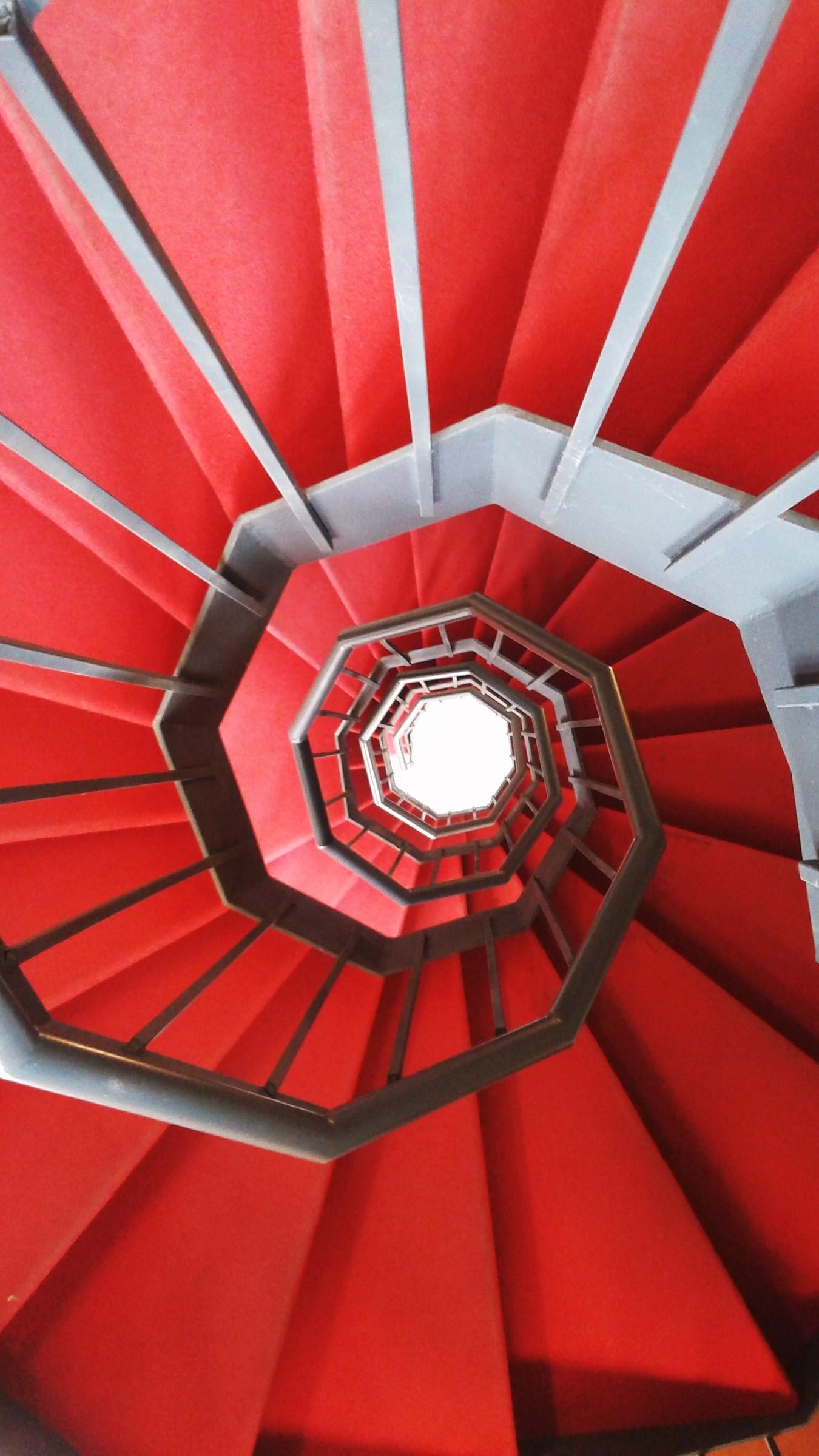 Spirale rossa...