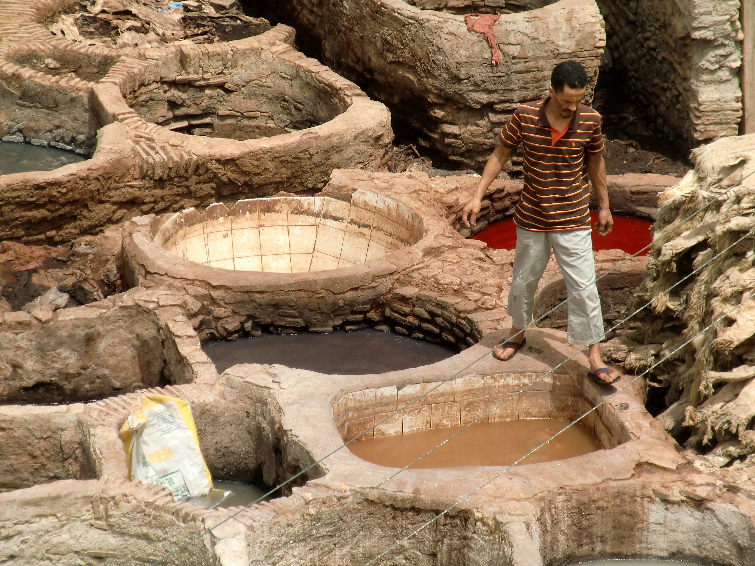 the Tanneries...