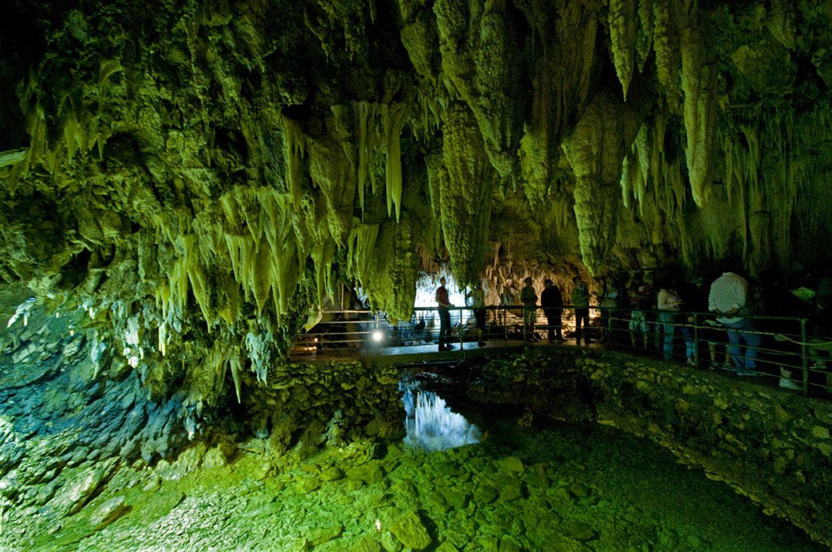 the green cave...