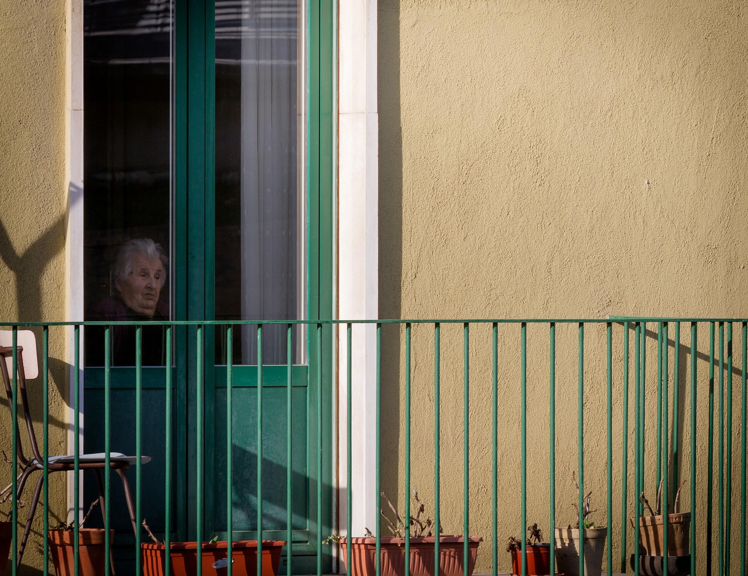 Ritratto di un'anziana signora....