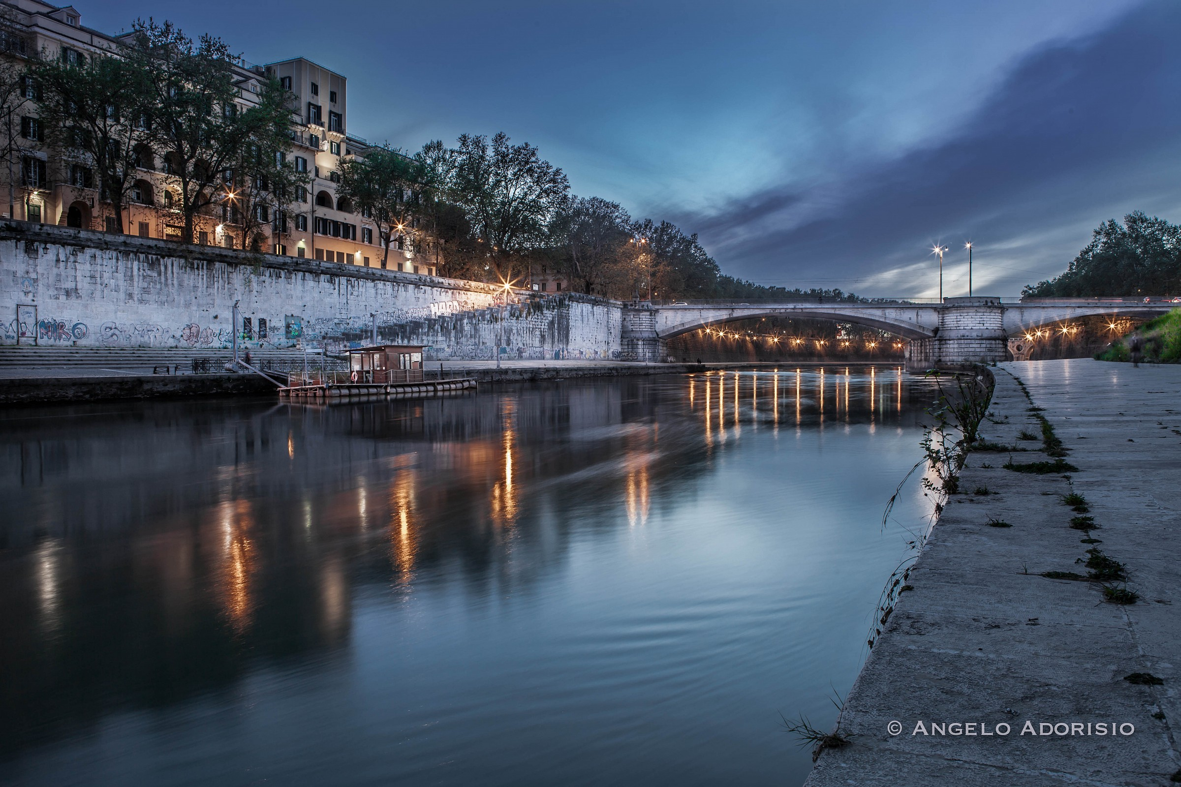 Rome - Ponte Garibaldi...