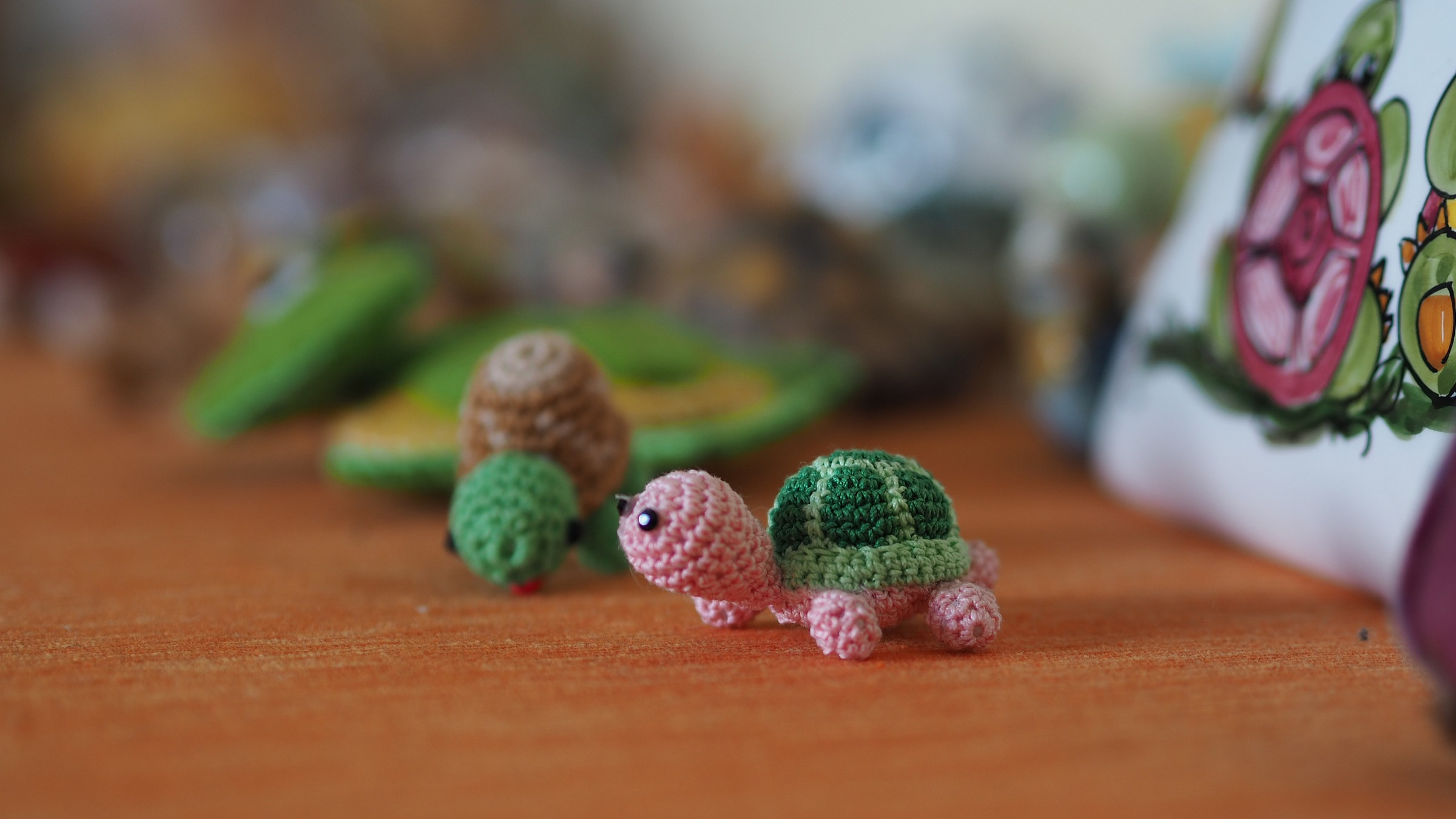small turtle ......