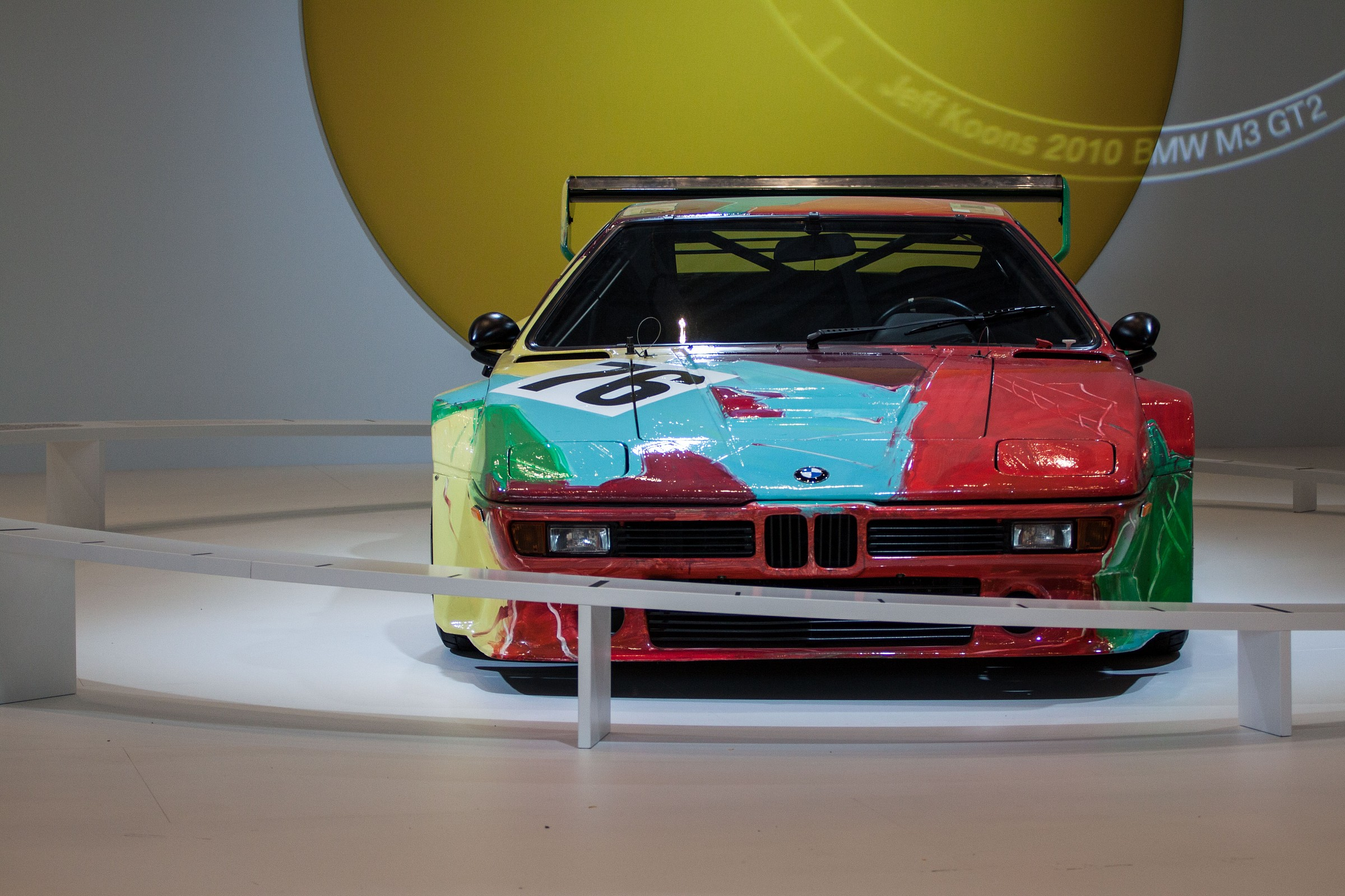 BMW Art by Andy Warhol...
