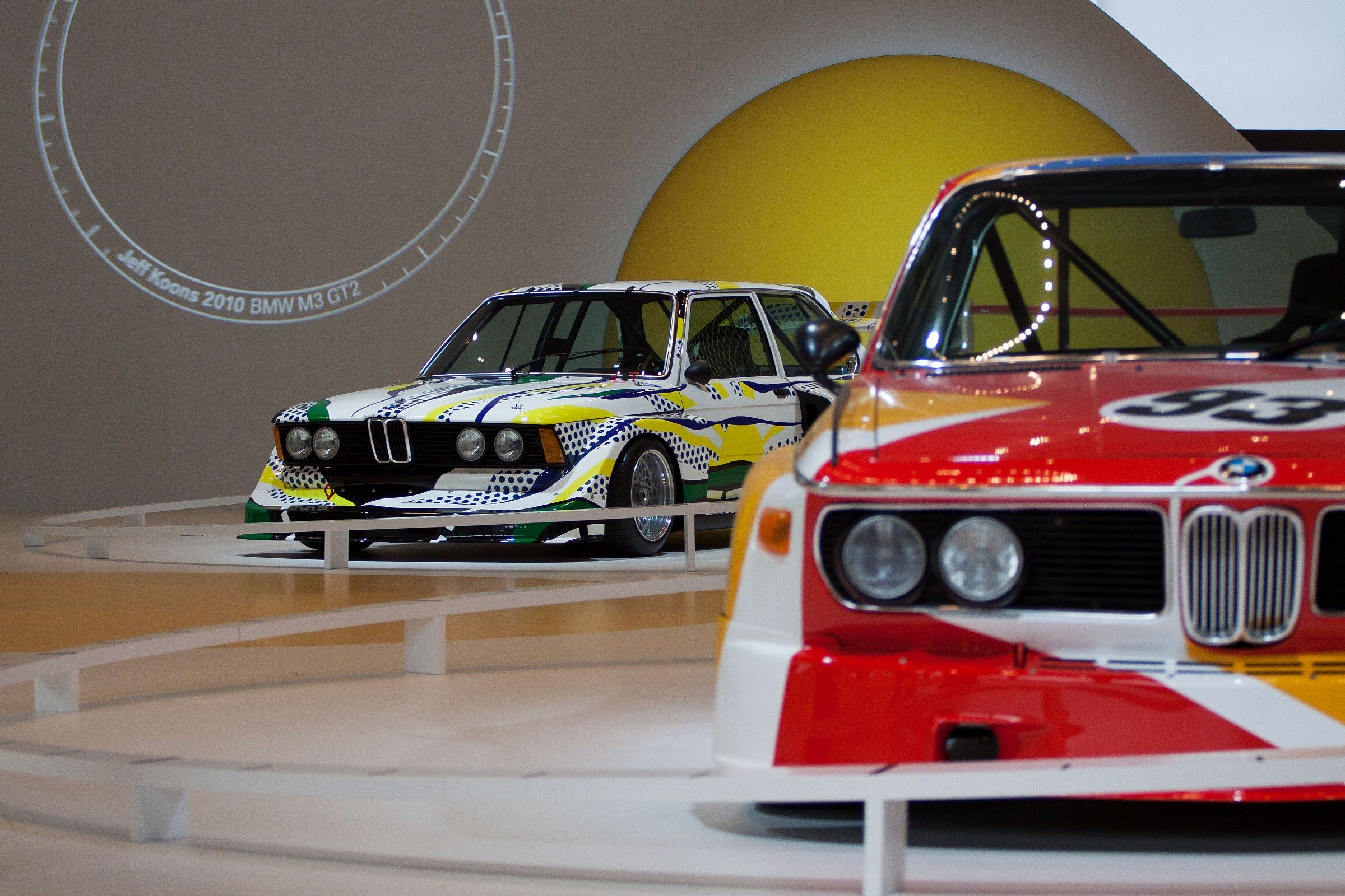 BMW Art cars...
