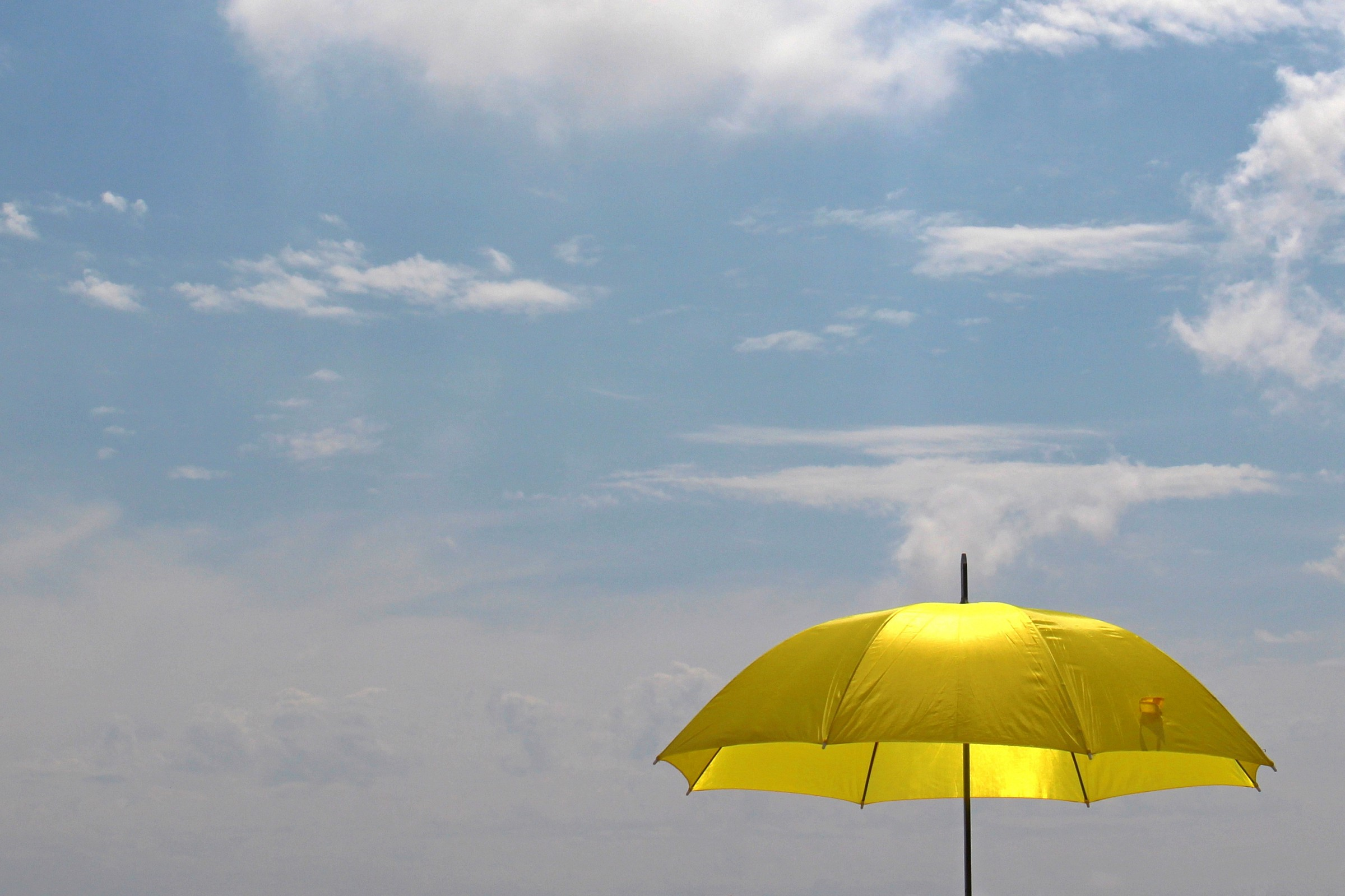 The umbrella that you do not expect...