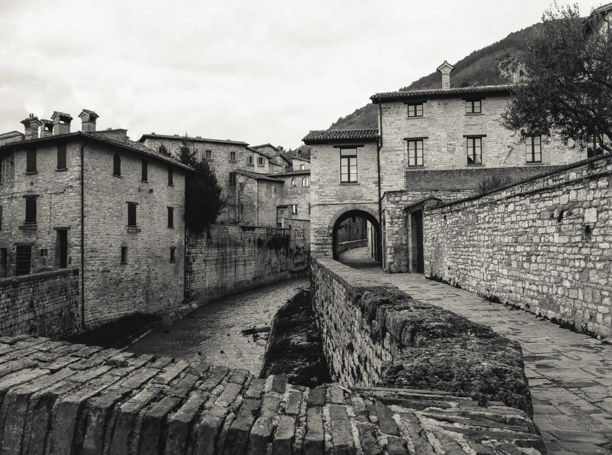 Like a medieval village...